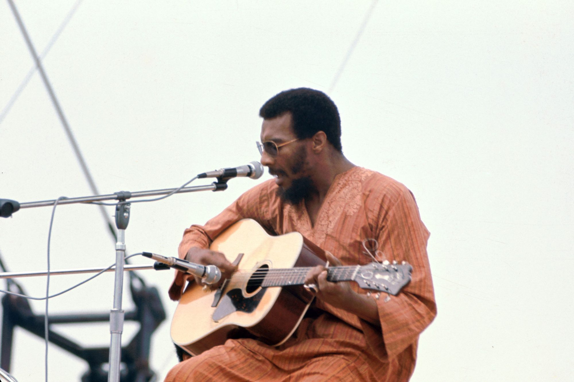 Richie Havens Performs At Woodstock