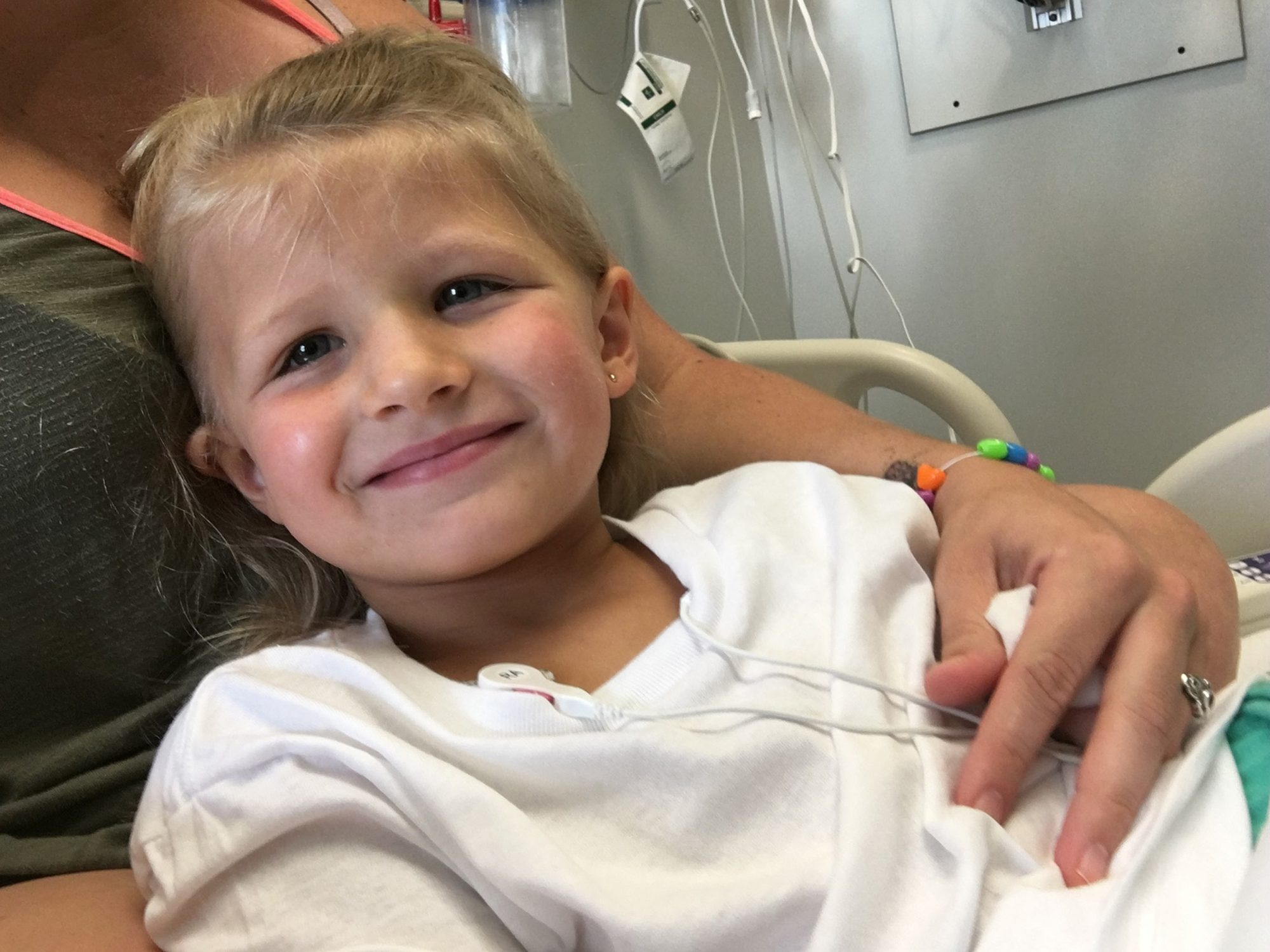 girl recovers from tick bite