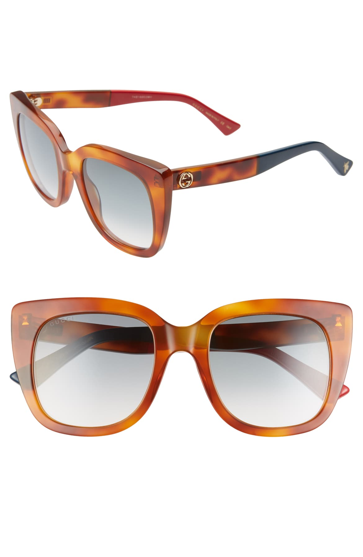 Gucci 51mm Cat Eye Sunglasses at Nordstrom