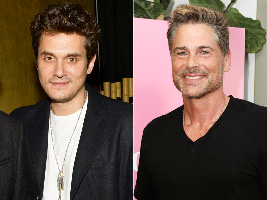 John Mayer and Rob Lowe