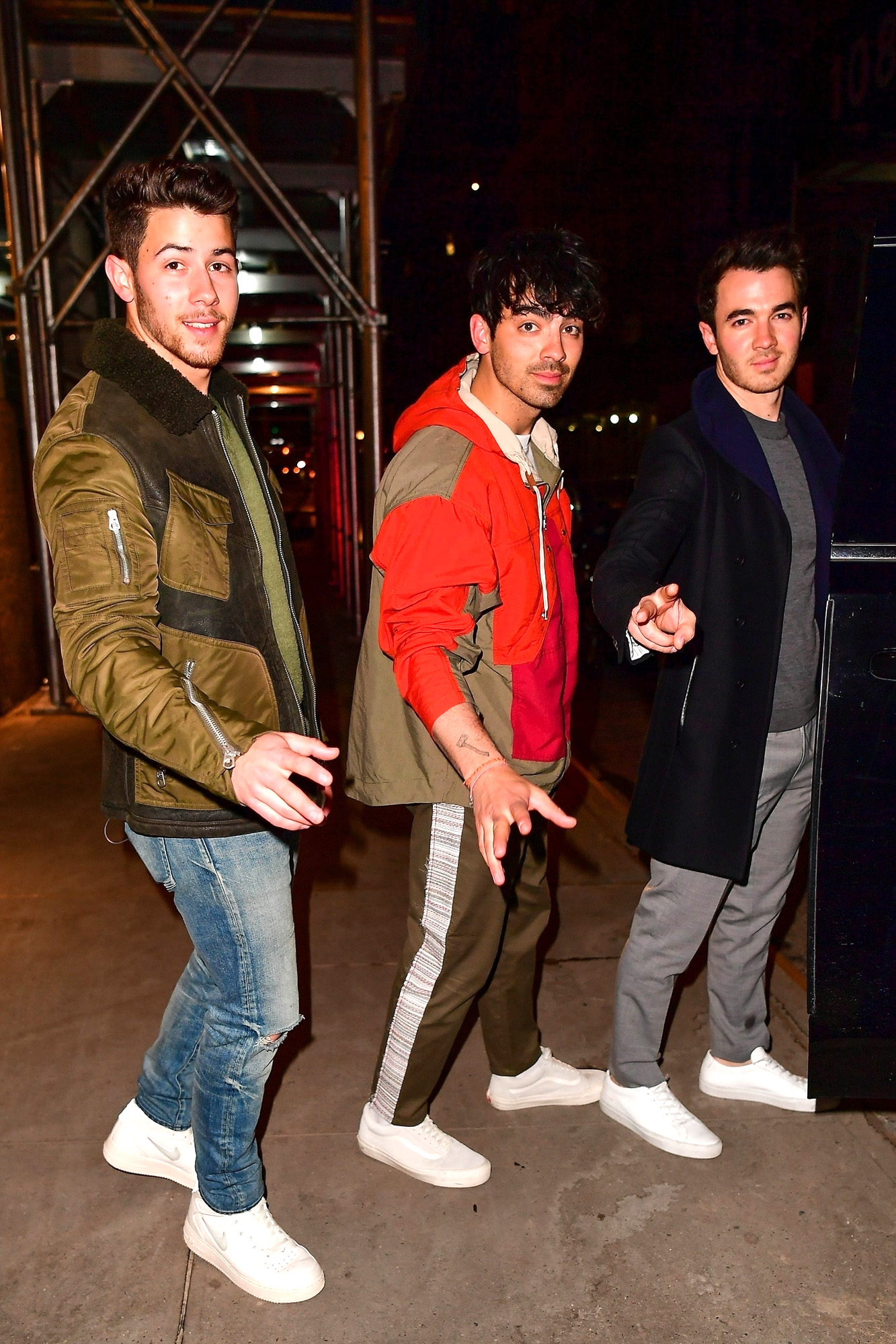 *EXCLUSIVE* The Jonas Brothers go to dinner as their new album 'Sucker' is released