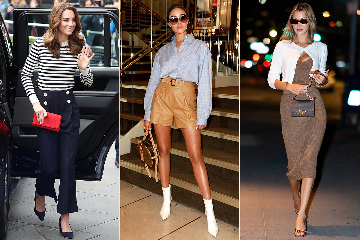 kate middleton; olivia culpo; bella hadid Fall Outfit Ideas