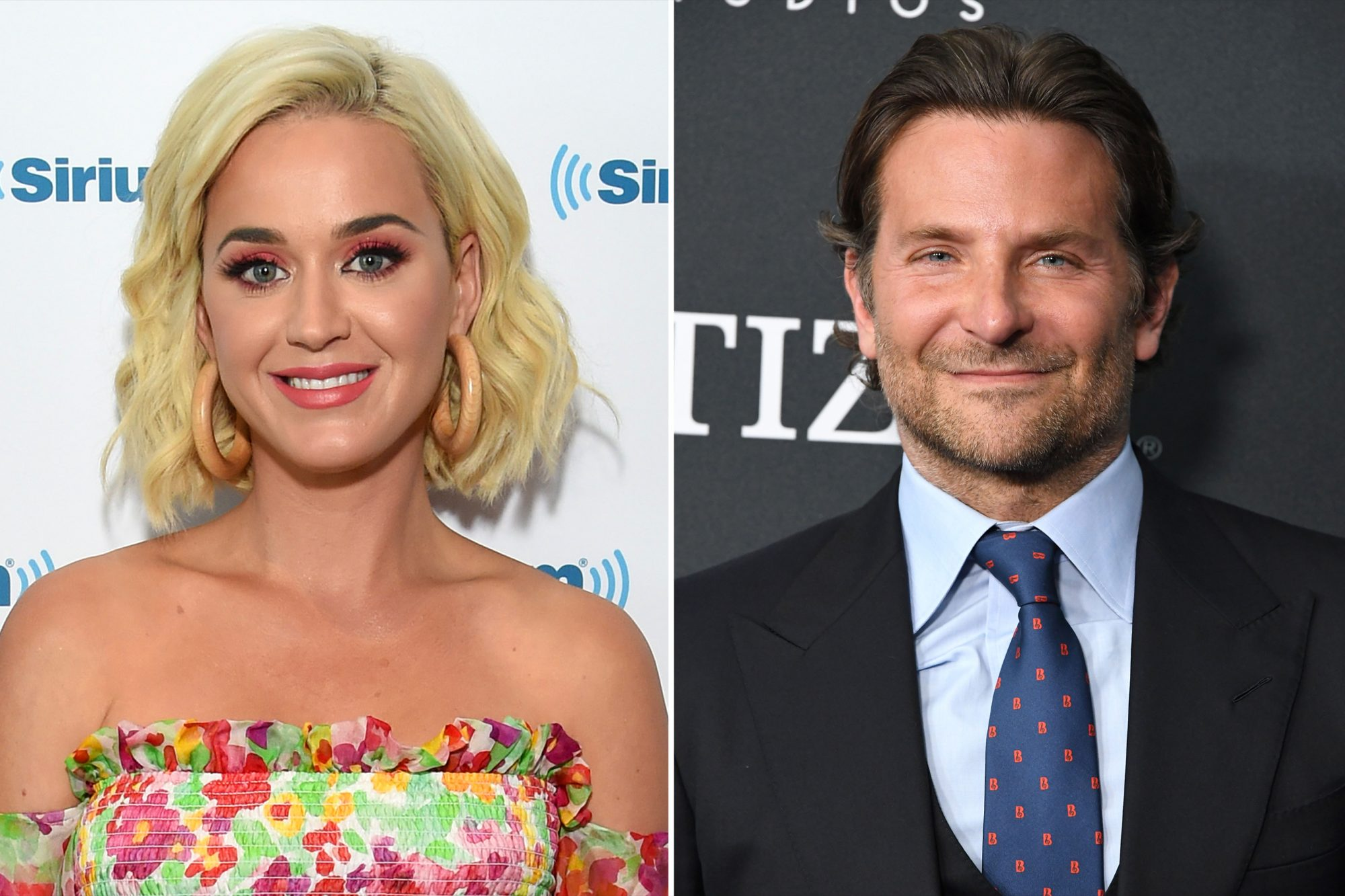 Katy Perry and Bradley Cooper