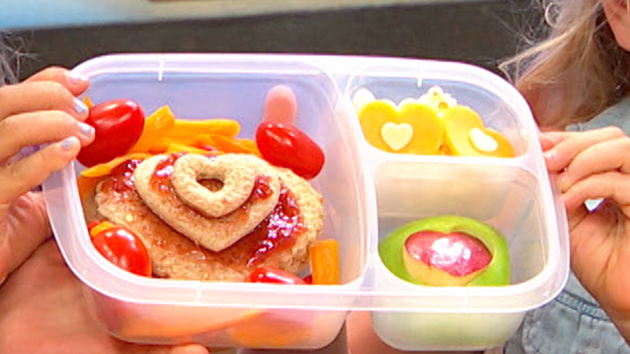 Love Is In the School Year! Make Lunchbox Dad's 'I Love You Heart' Lunch
