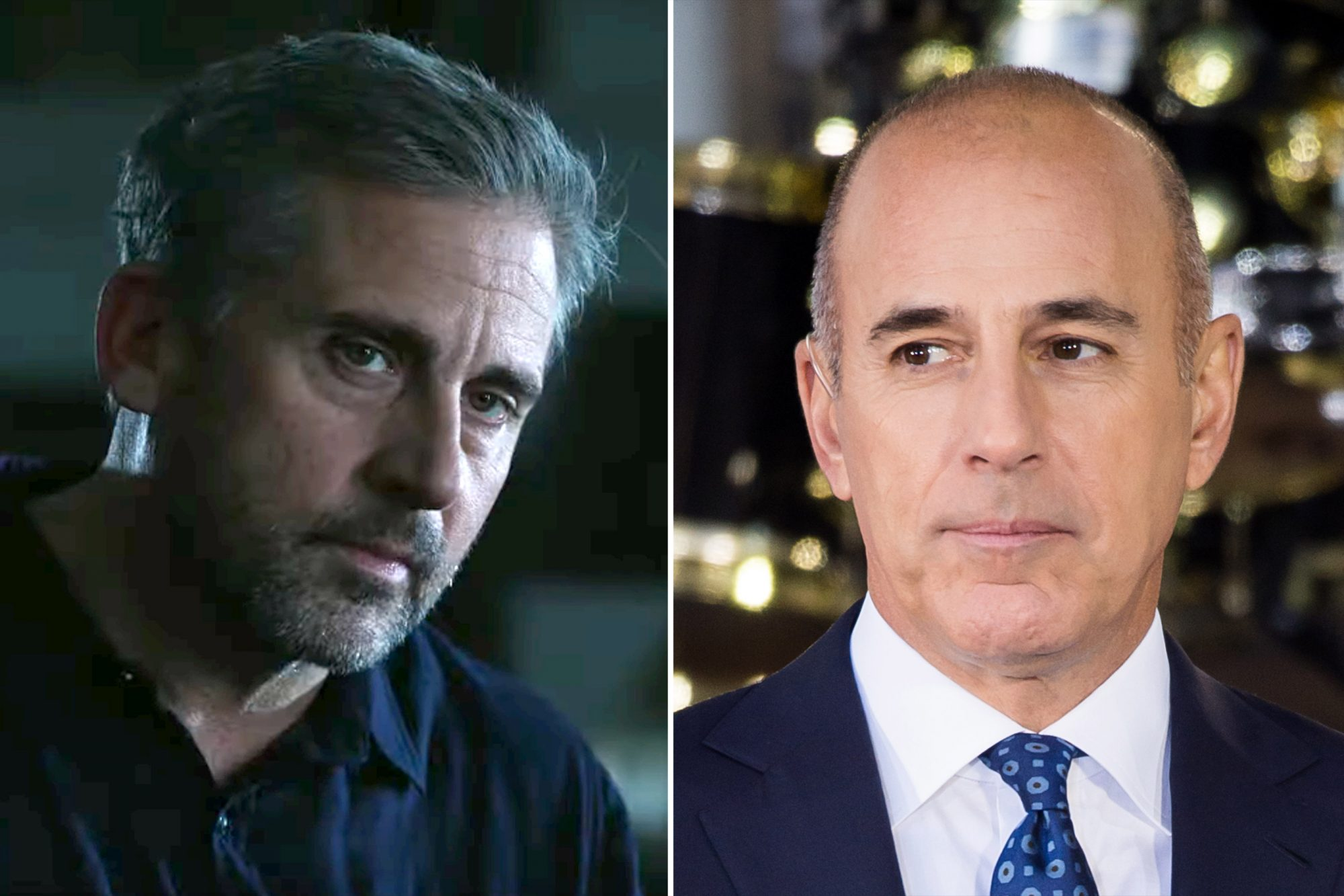 The Morning Show Steve Carell Matt Lauer