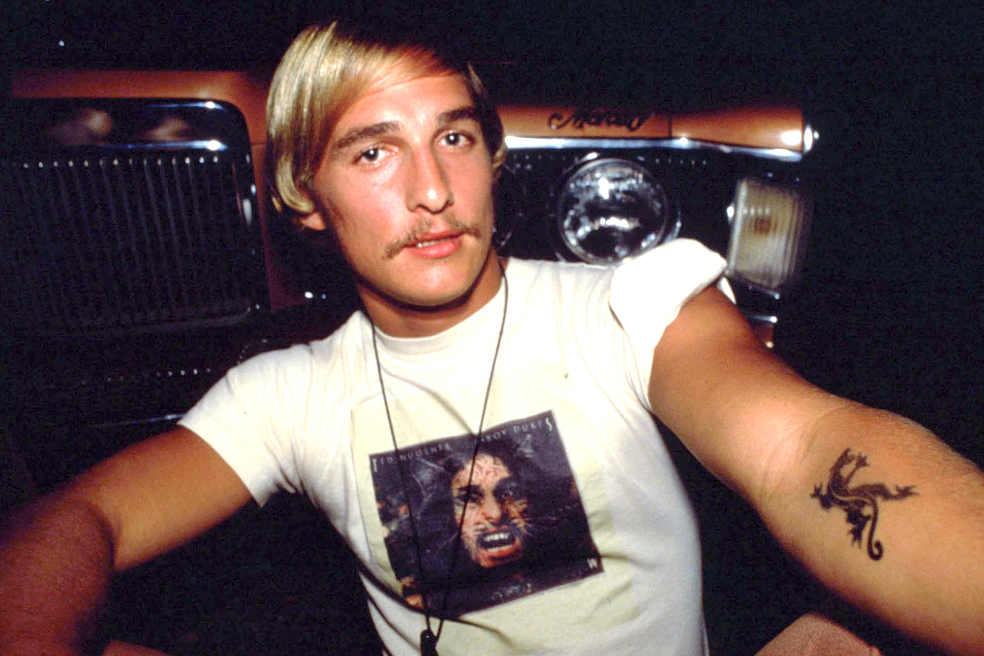 Matthew McConaughey as Wooderson in Dazed and Confused