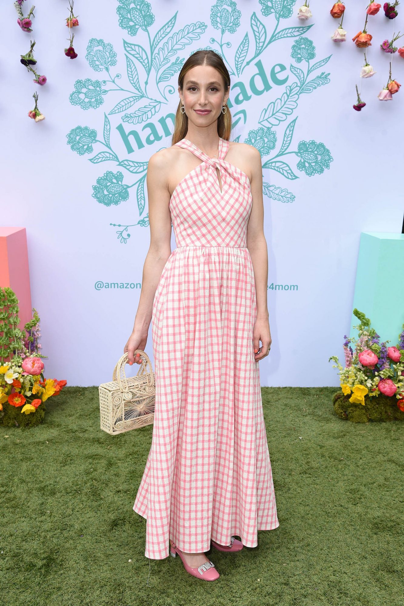Whitney Port celebrated Mother's Day at the Amazon Handmade Event