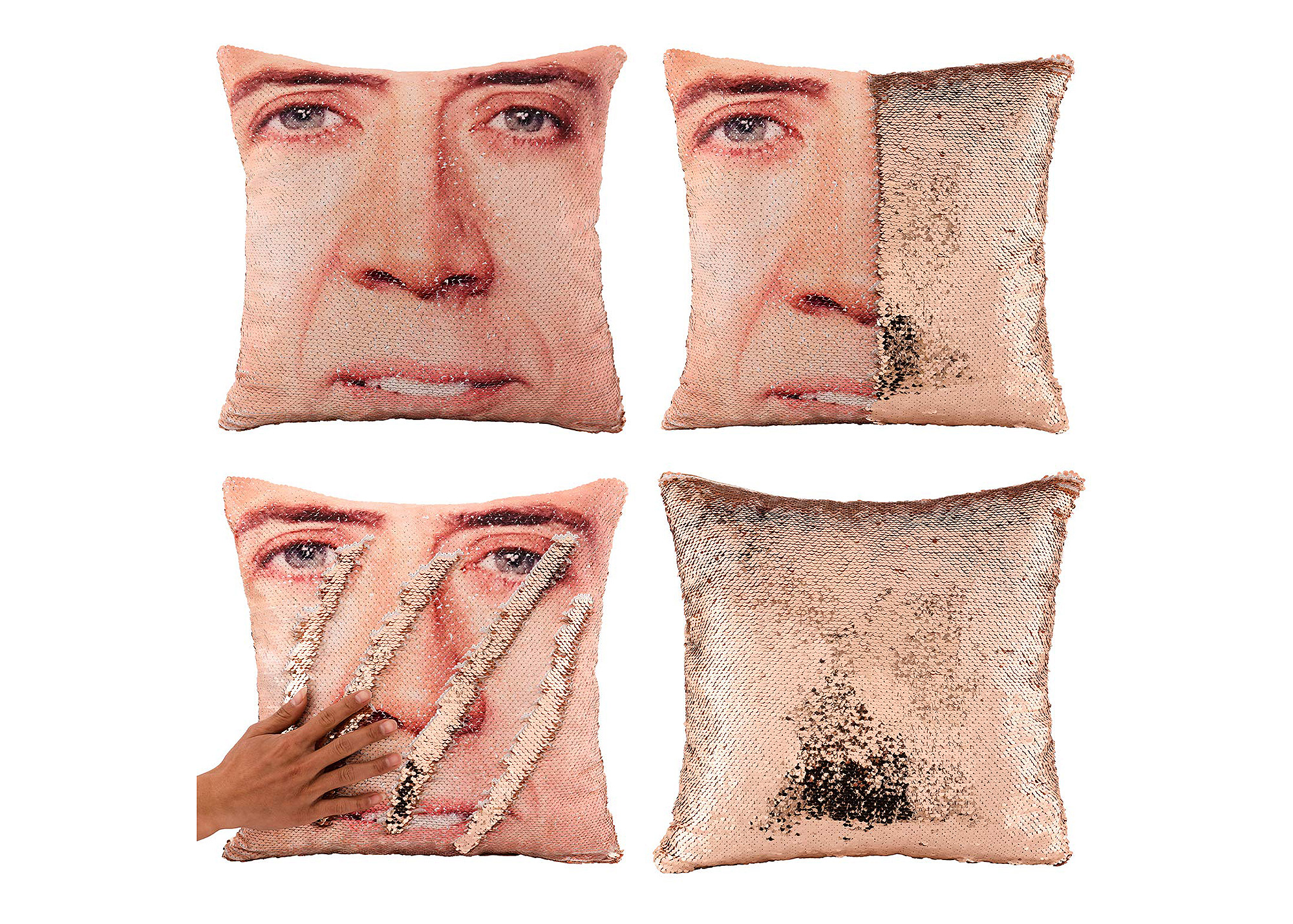 nicolas cage pillow