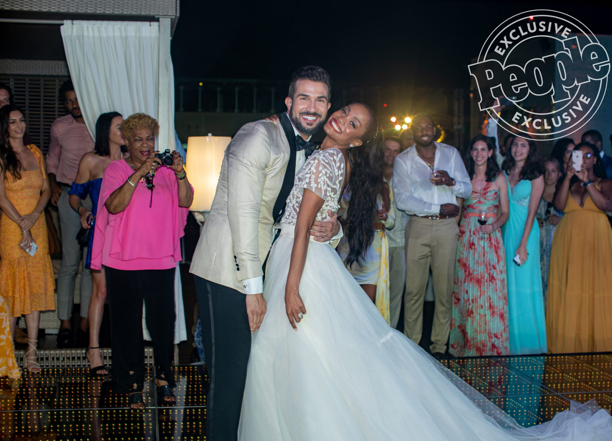 Rachel Lindsay and Bryan Abasolo Share Details of Their Island