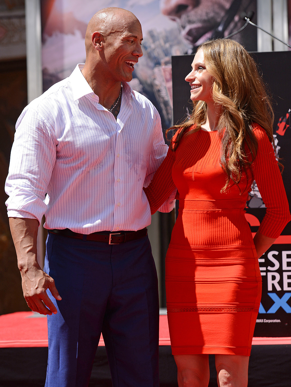 Lauren Hashian,Dwayne Johnson