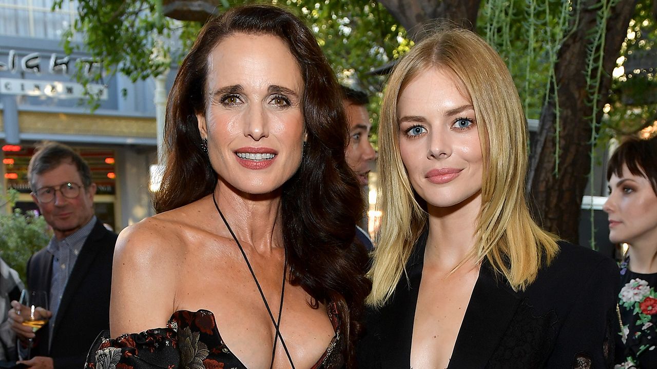 Samara Weaving Accidentally Hit Andie MacDowell's Head with a Fake Brick Filming 'Ready or Not'