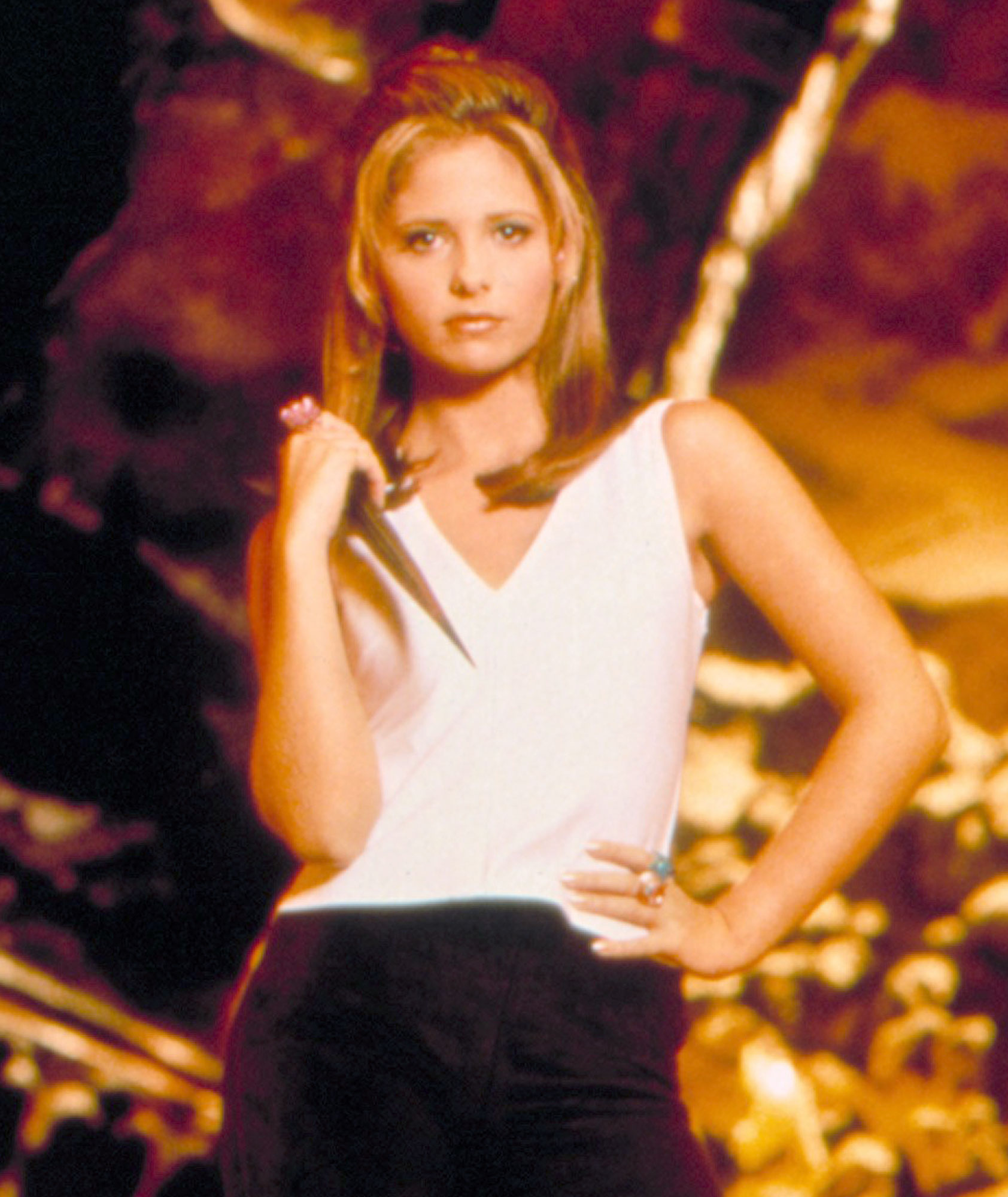 BUFFY THE VAMPIRE SLAYER, Sarah Michelle Gellar, 1997-2003, Season 1, 1997, TM and Copyright © 20th