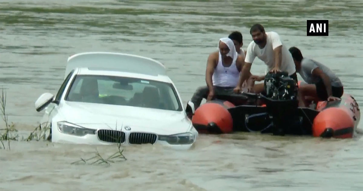 22-Year-Old Who Wanted Jaguar Pushes BMW Gifted by His Parents Into River