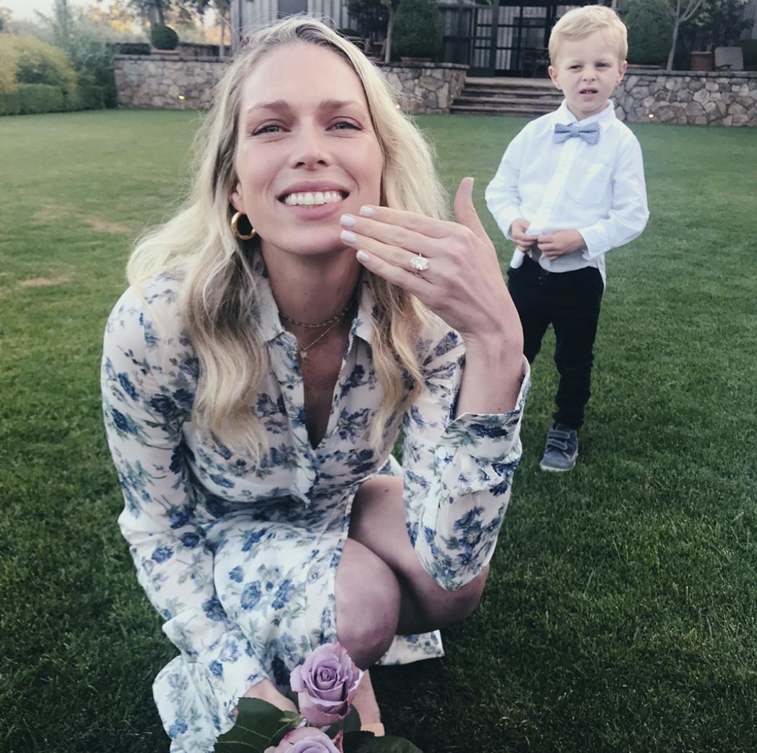 erin foster engagement ring