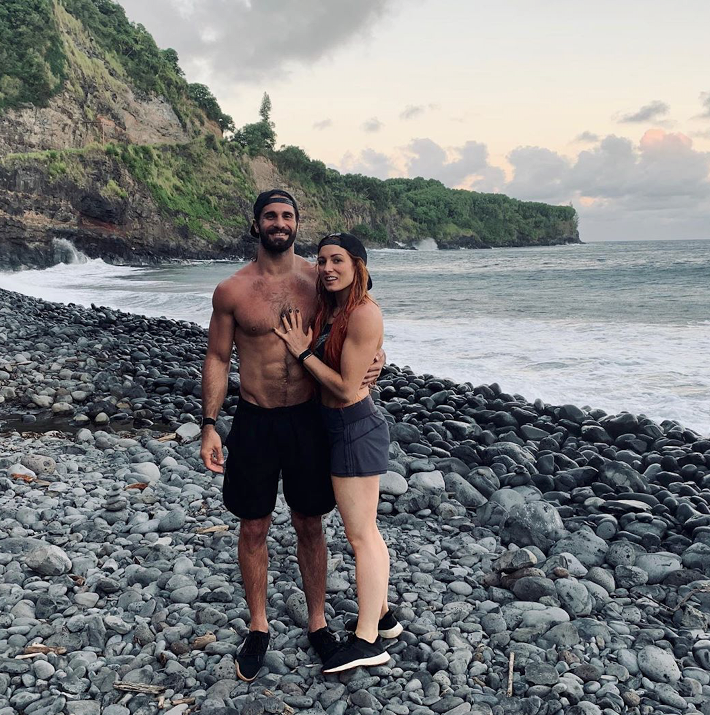 WWE's Seth Rollins and Becky Lynch Engaged