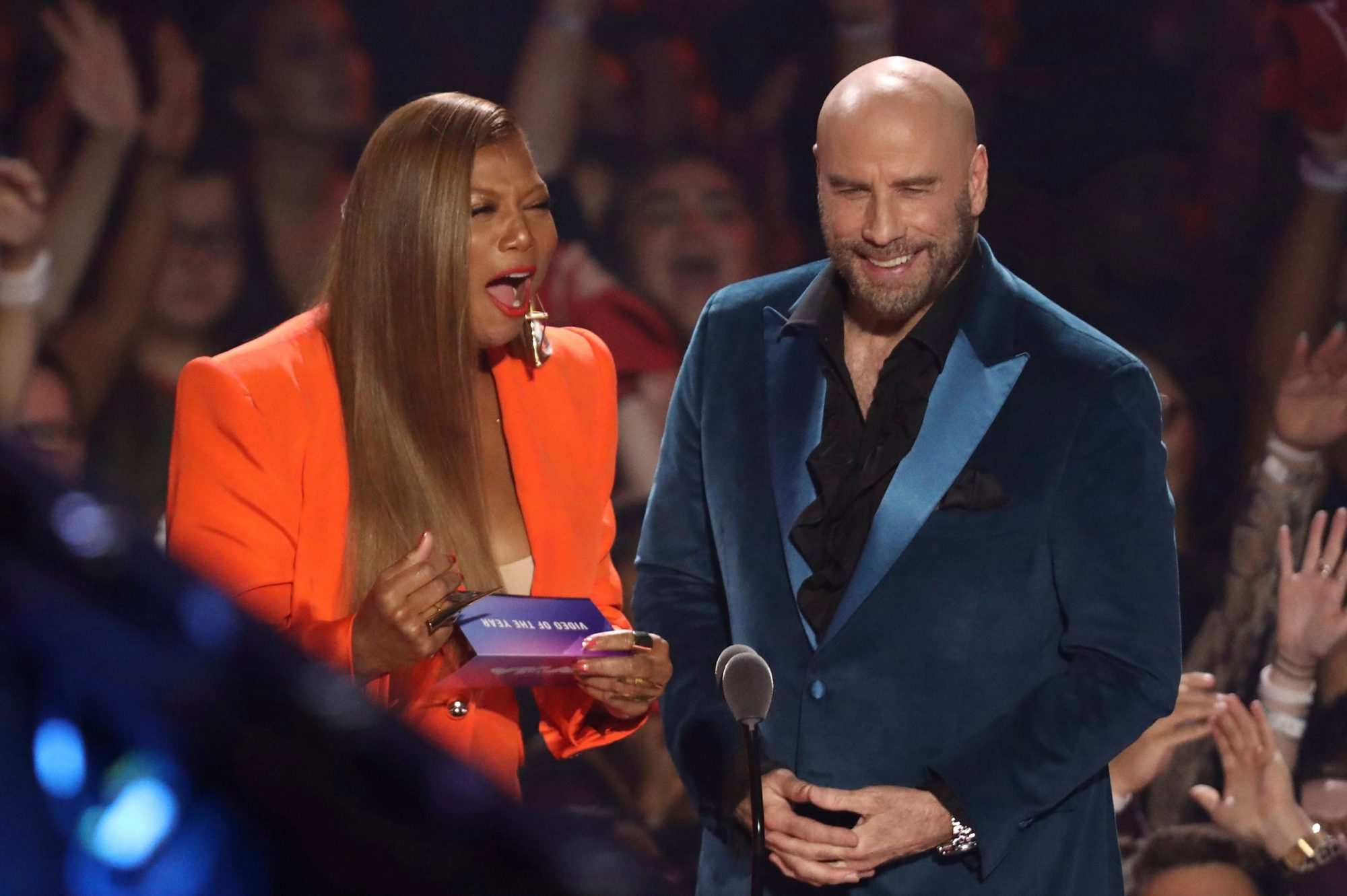 Queen Latifah, John Travolta
