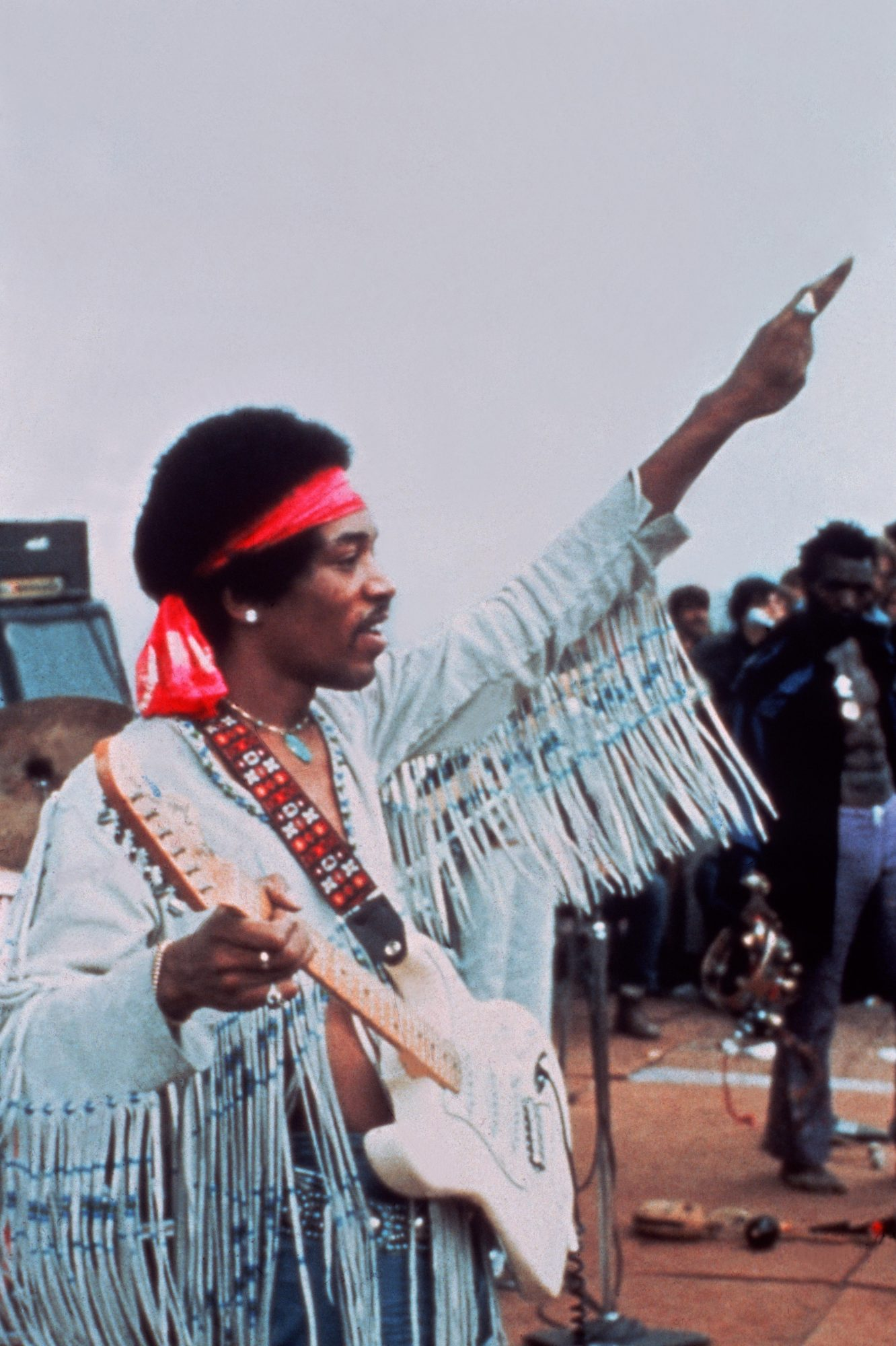 Jimi Hendrix's Major Nerves