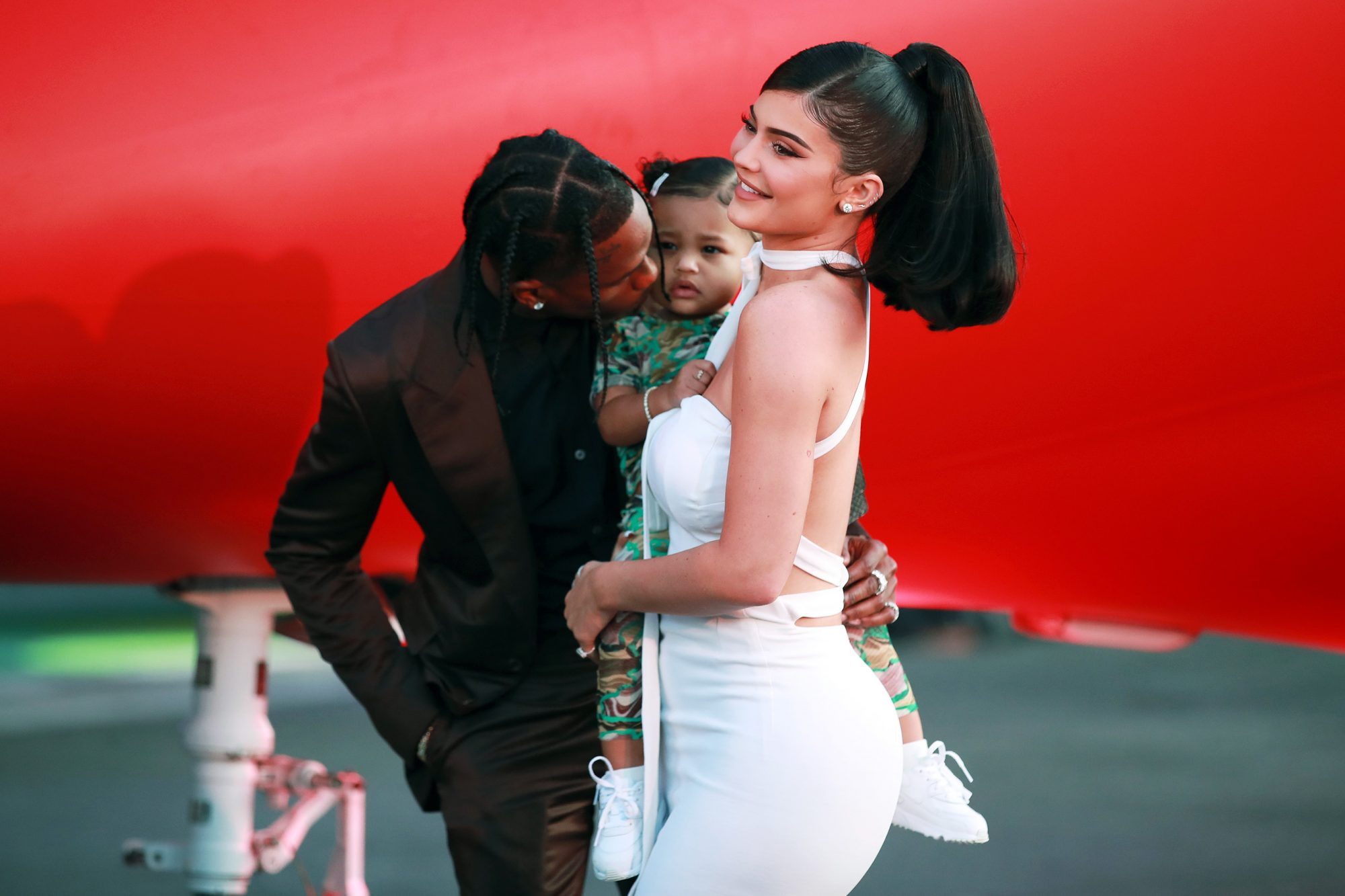 On Co-Parenting with Ex Travis Scott