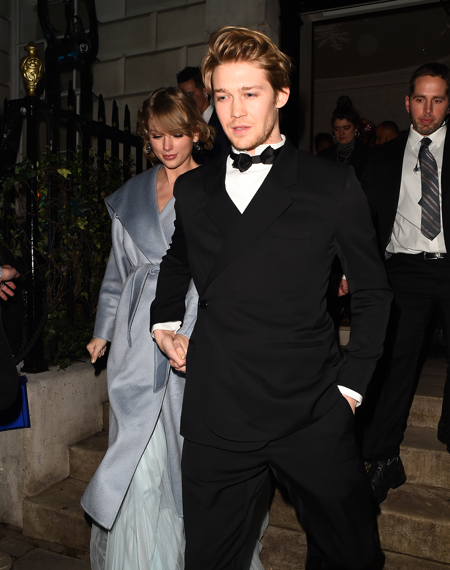 Taylor Swift and Joe Alwyn in London