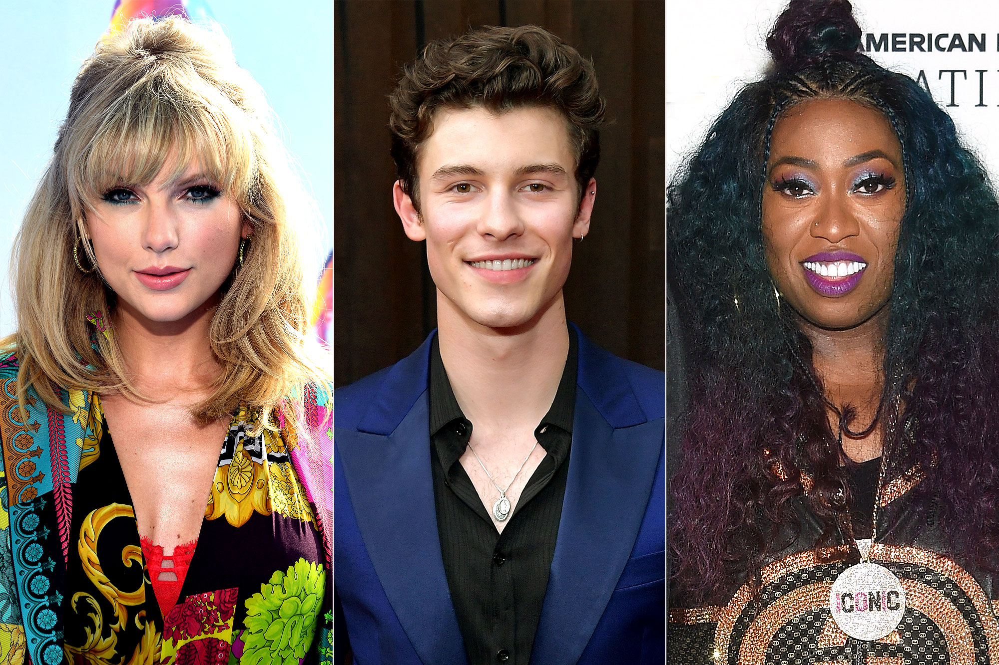 Taylor Swift, Shawn Mendes and Missy Elliott