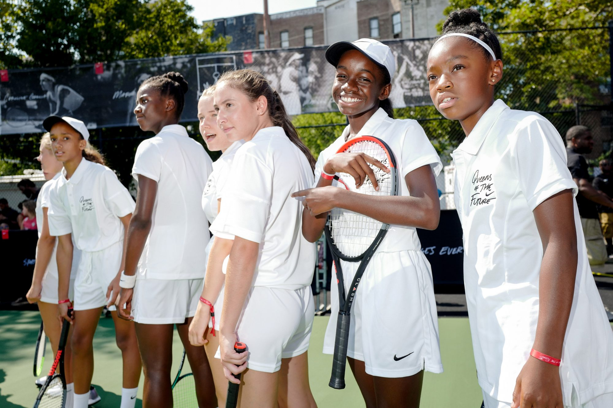 NIKE PRESENTS QUEENS OF THE FUTURE :TENNIS EXPERIENCE