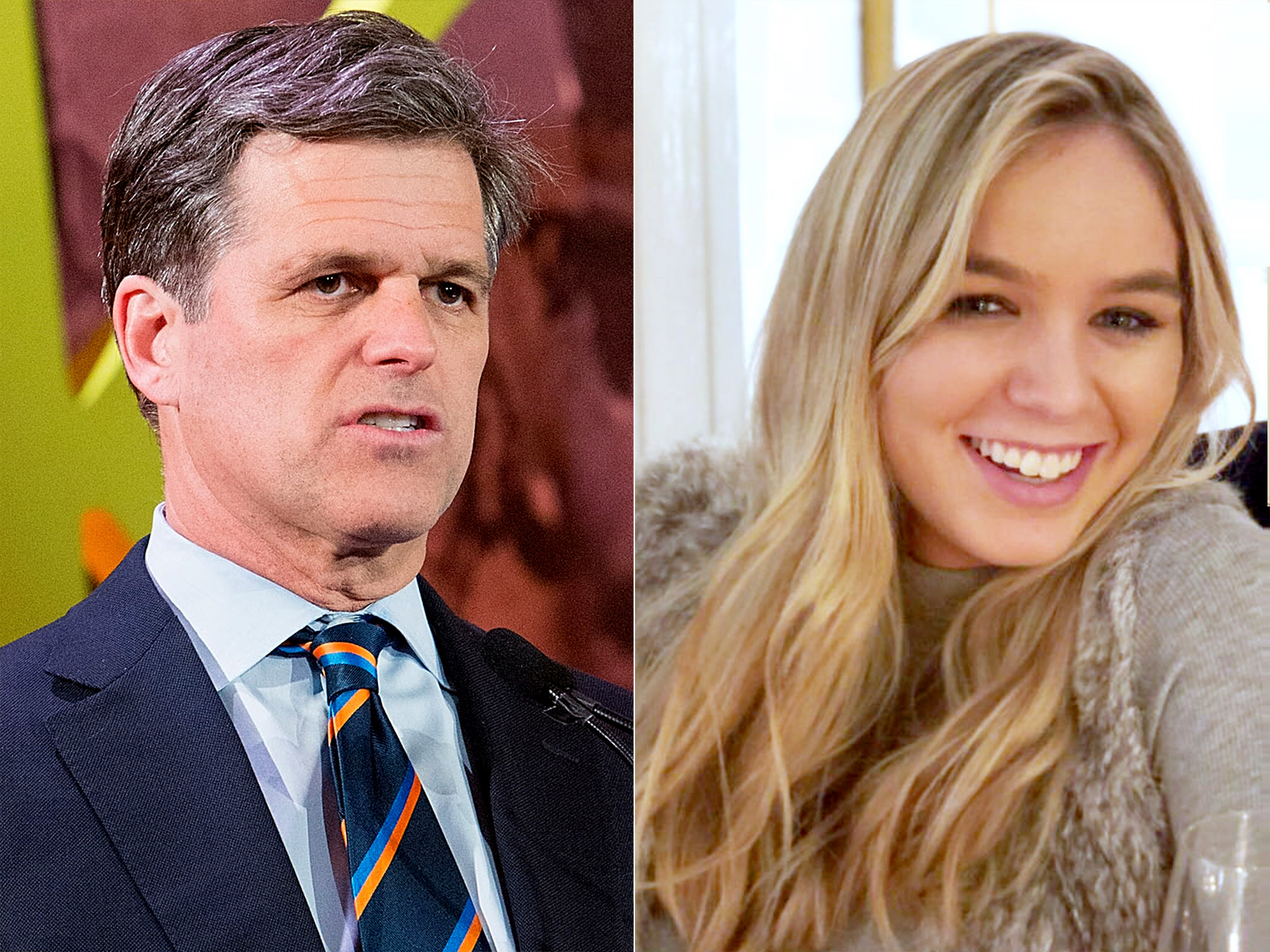 Timothy Shriver and Saoirse Kennedy Hill