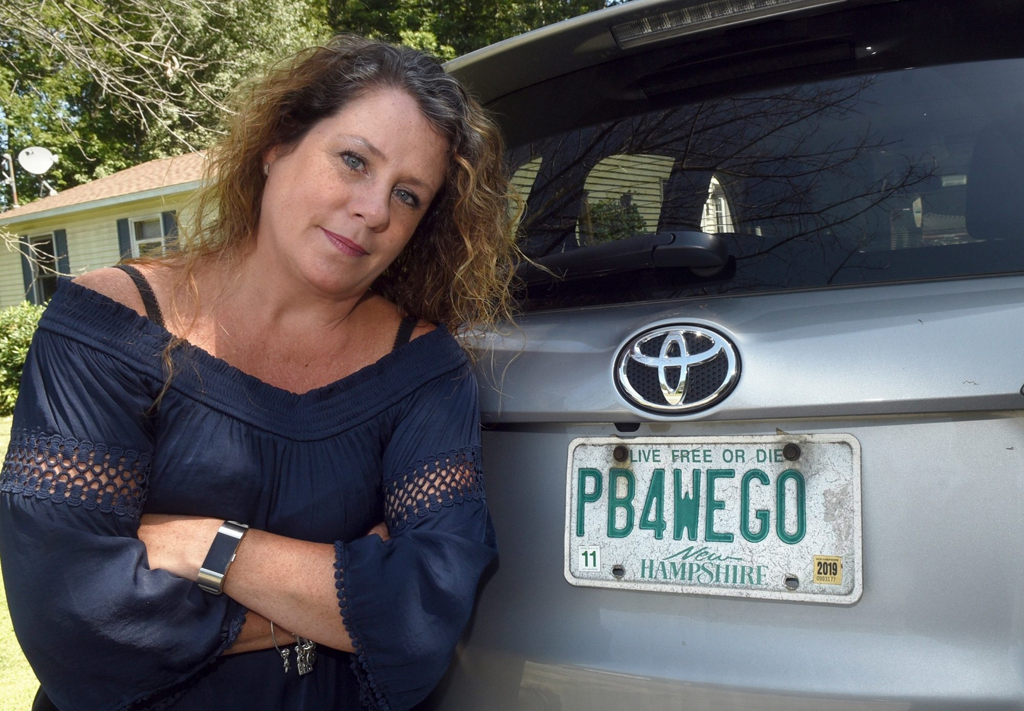 Mom Fighting To Keep Her Vanity License Plate That Reads Pb4wego People Com
