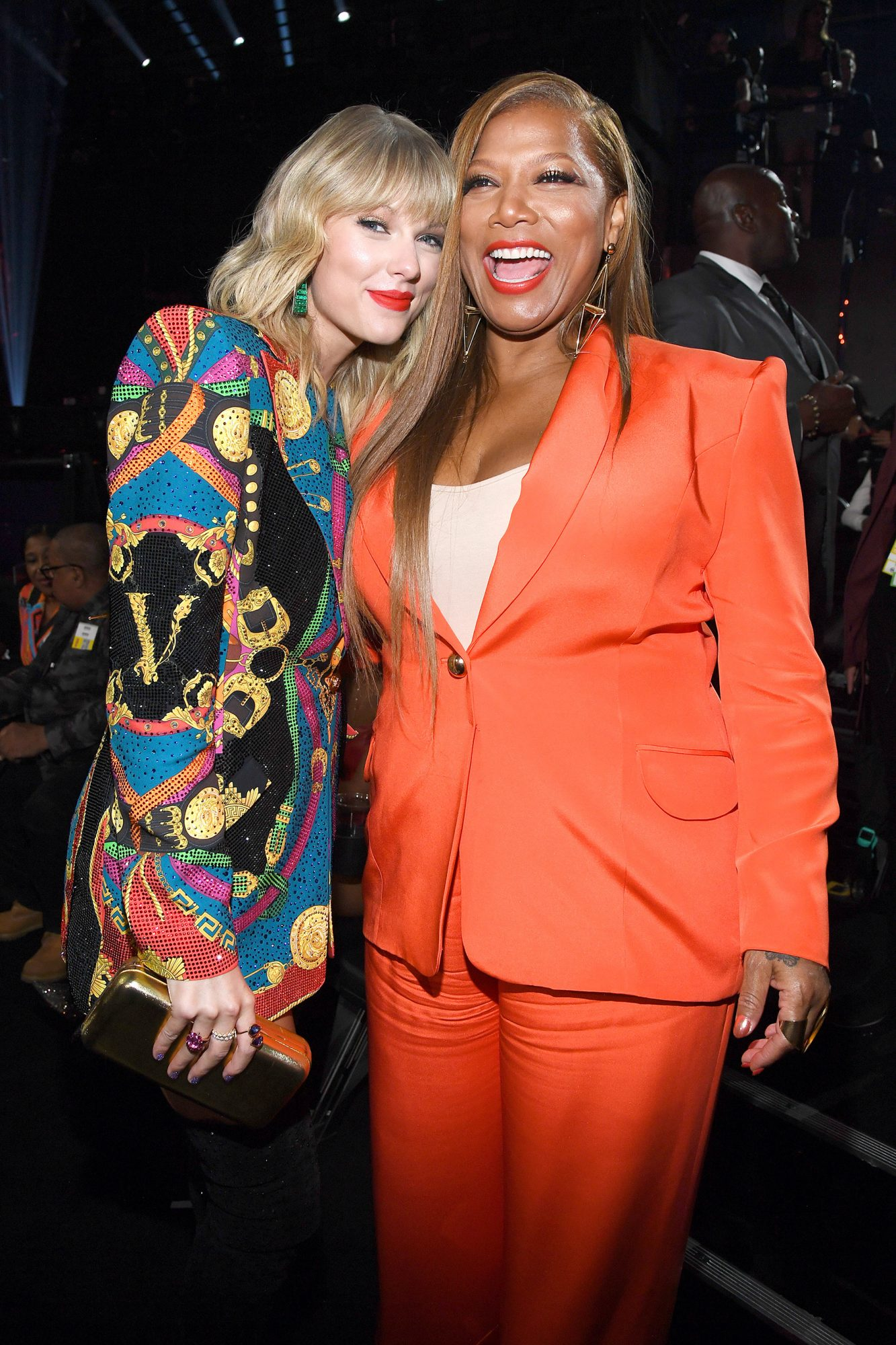 Taylor Swift and Queen Latifah