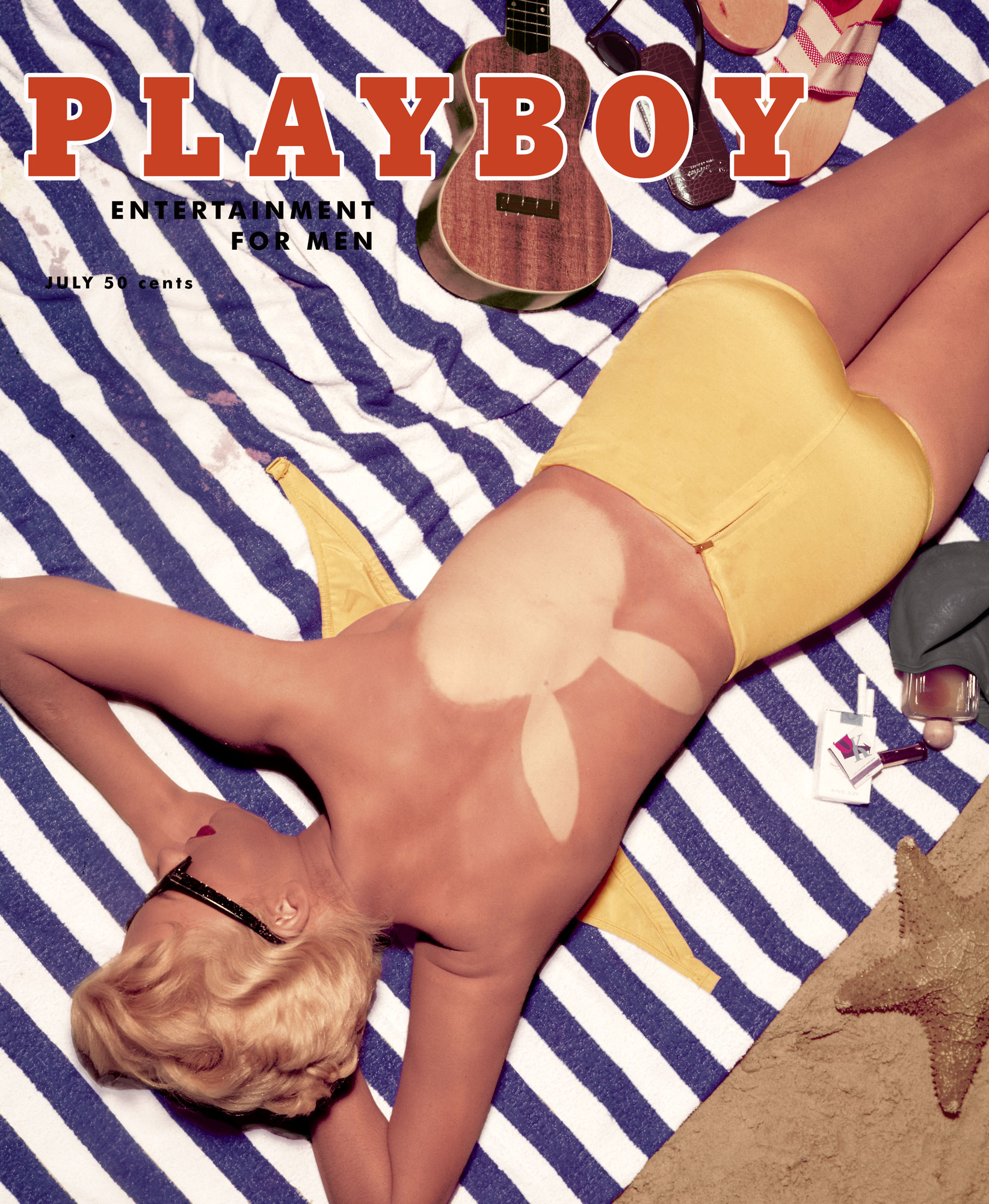 1955 July CoverPlayboy Cover