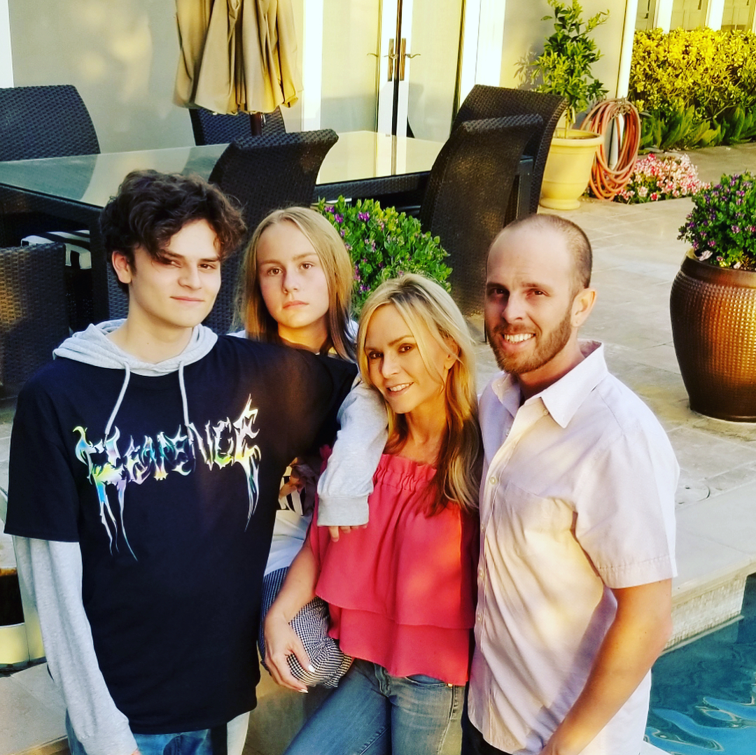 Tamra Judge and family