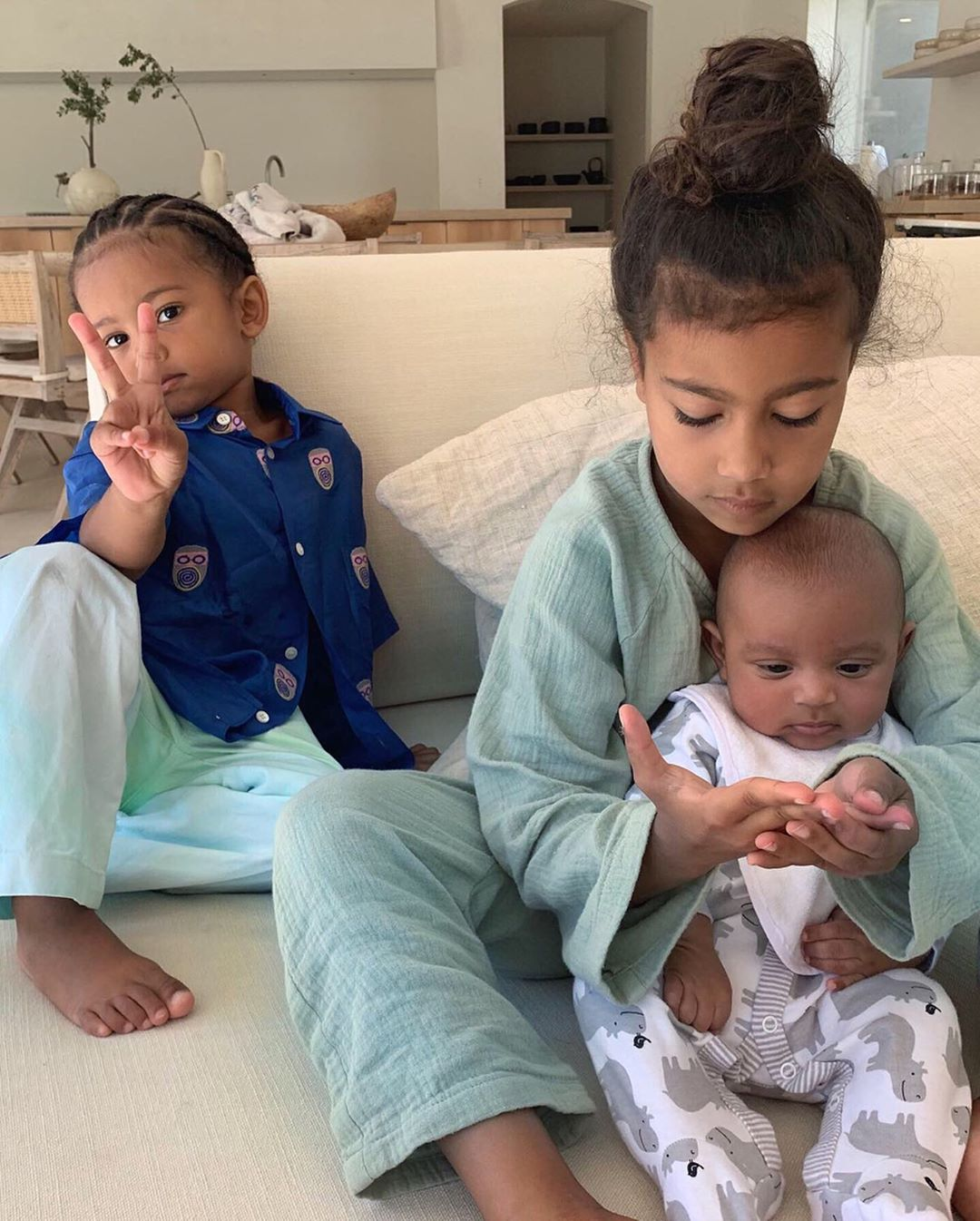 Saint, North & Psalm