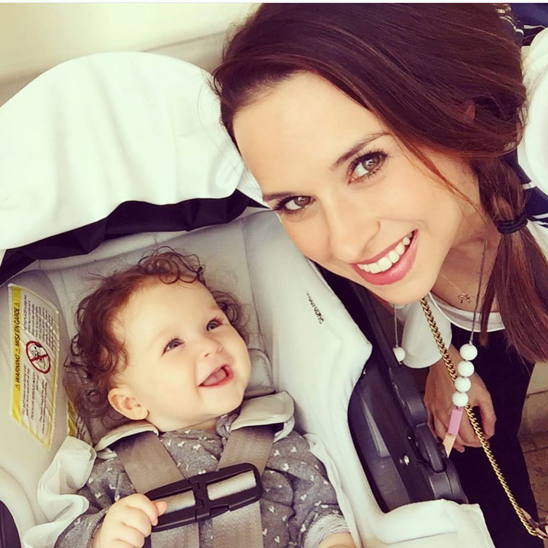 Lacey Chabert and daughter Julia
