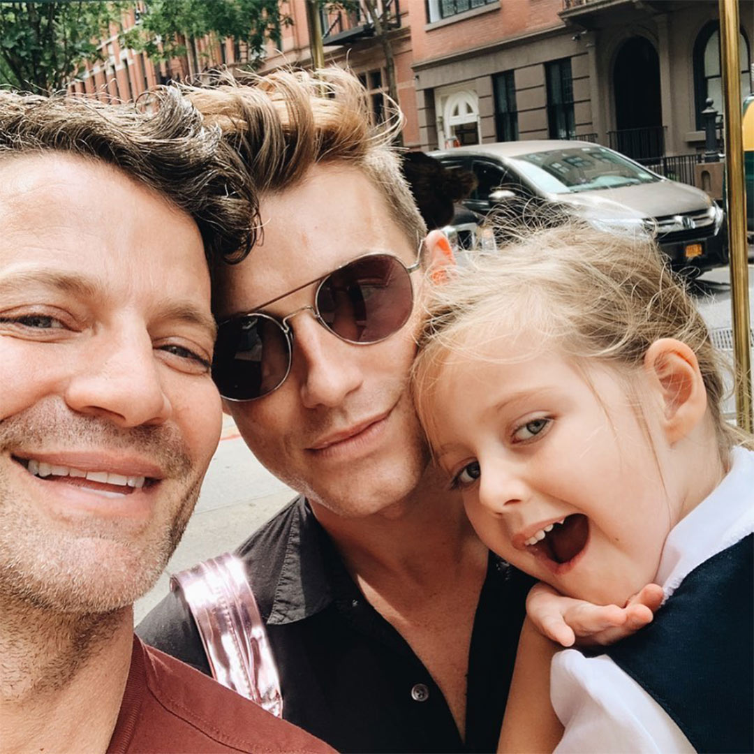 Jeremiah Brent and daughter