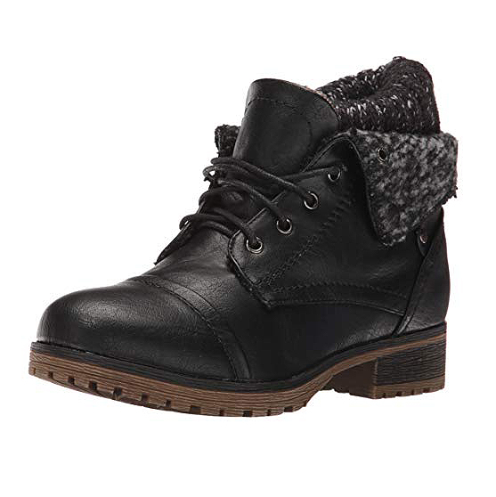 Refresh Wynne Women's Combat Lace Up Boot