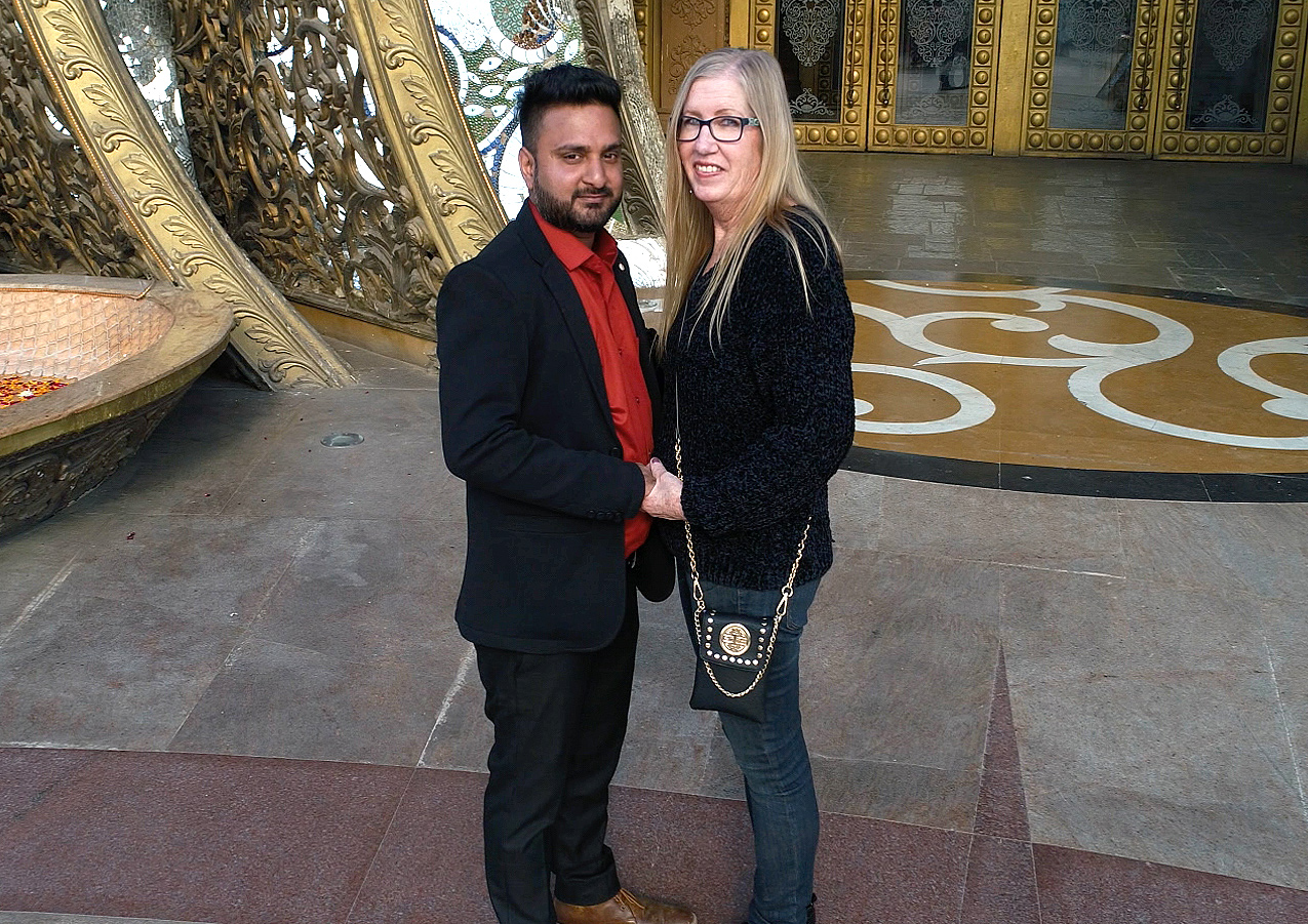 Jenny and Sumit'