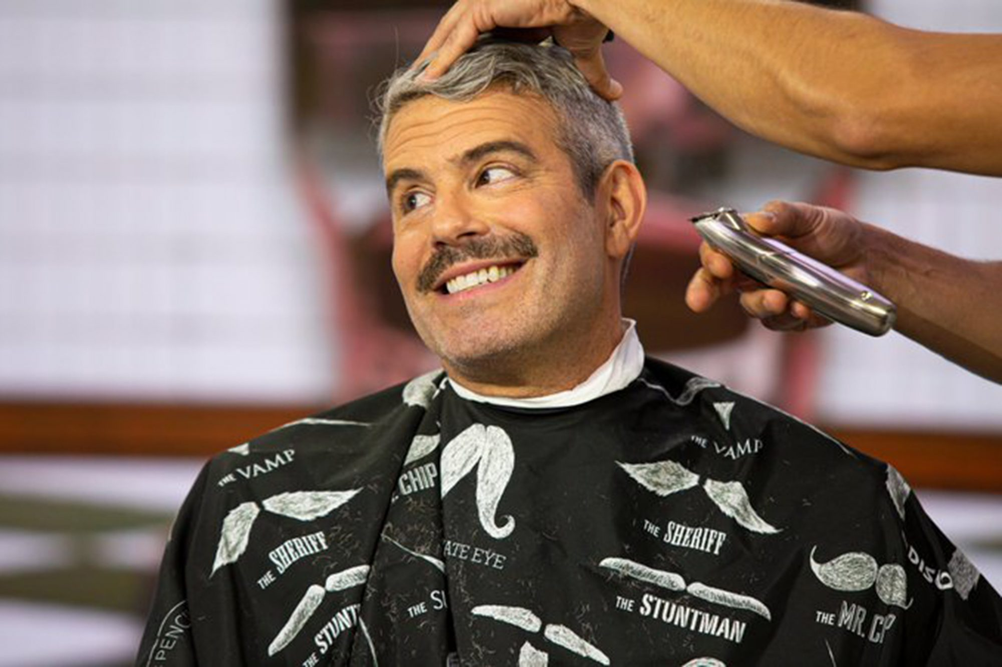 Andy Cohen Today show shaving