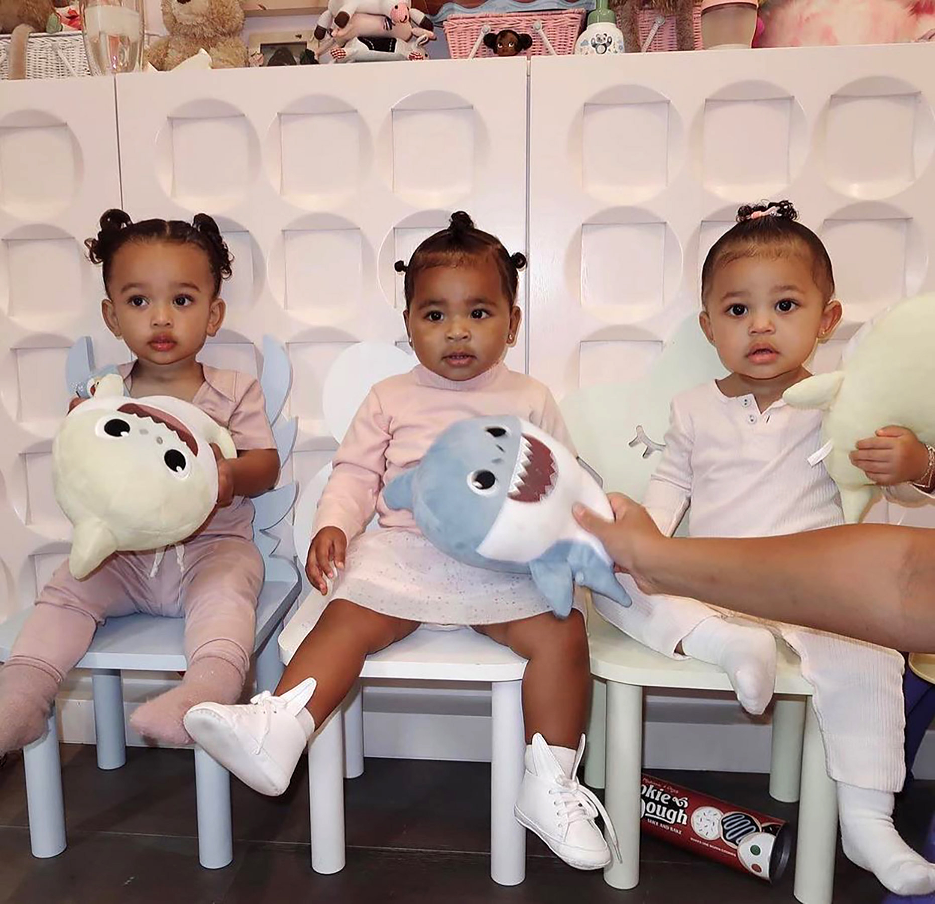 Chicago, True and Stormi