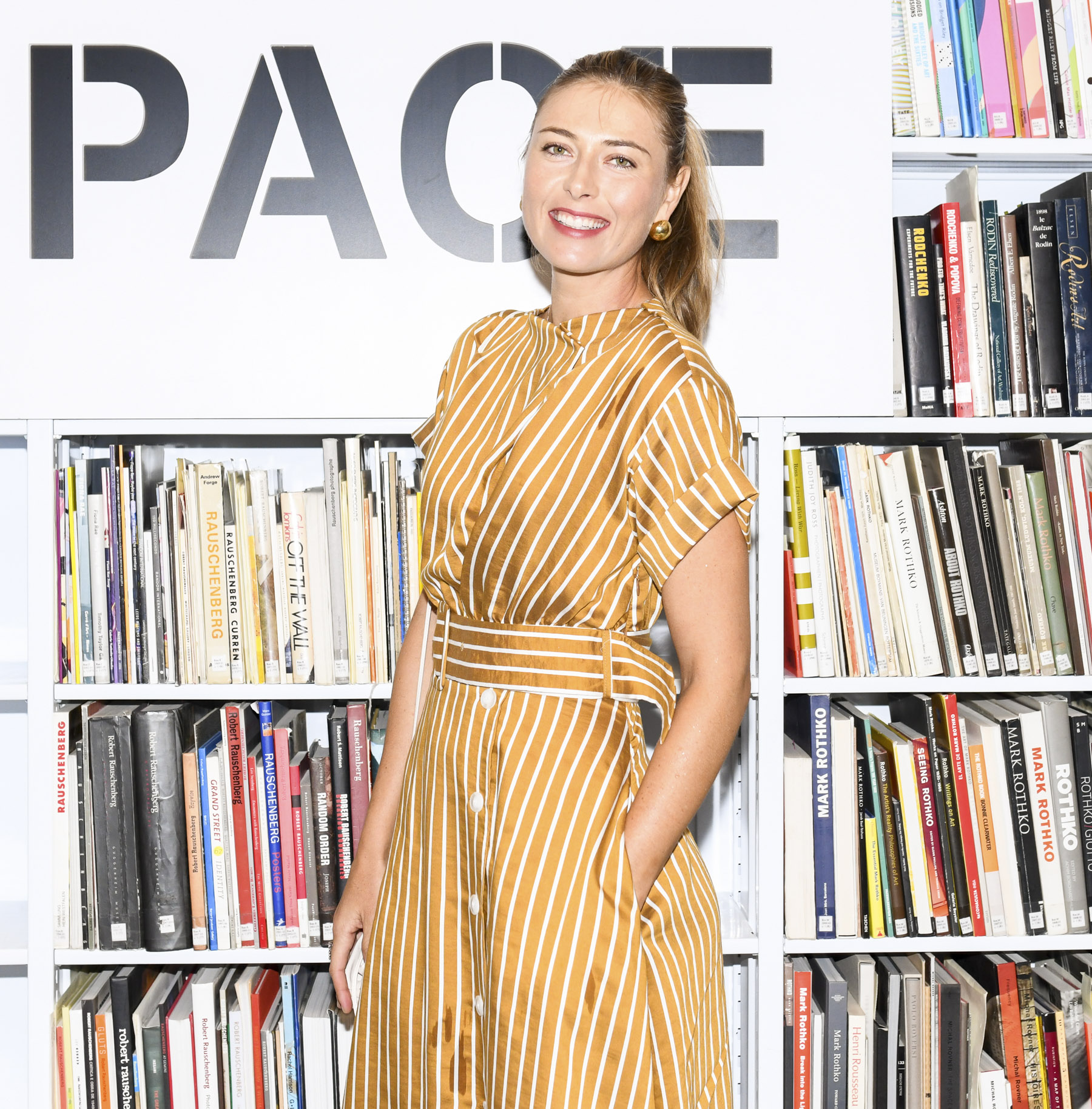 Maria Sharapova Pace: Global Flagship Opening