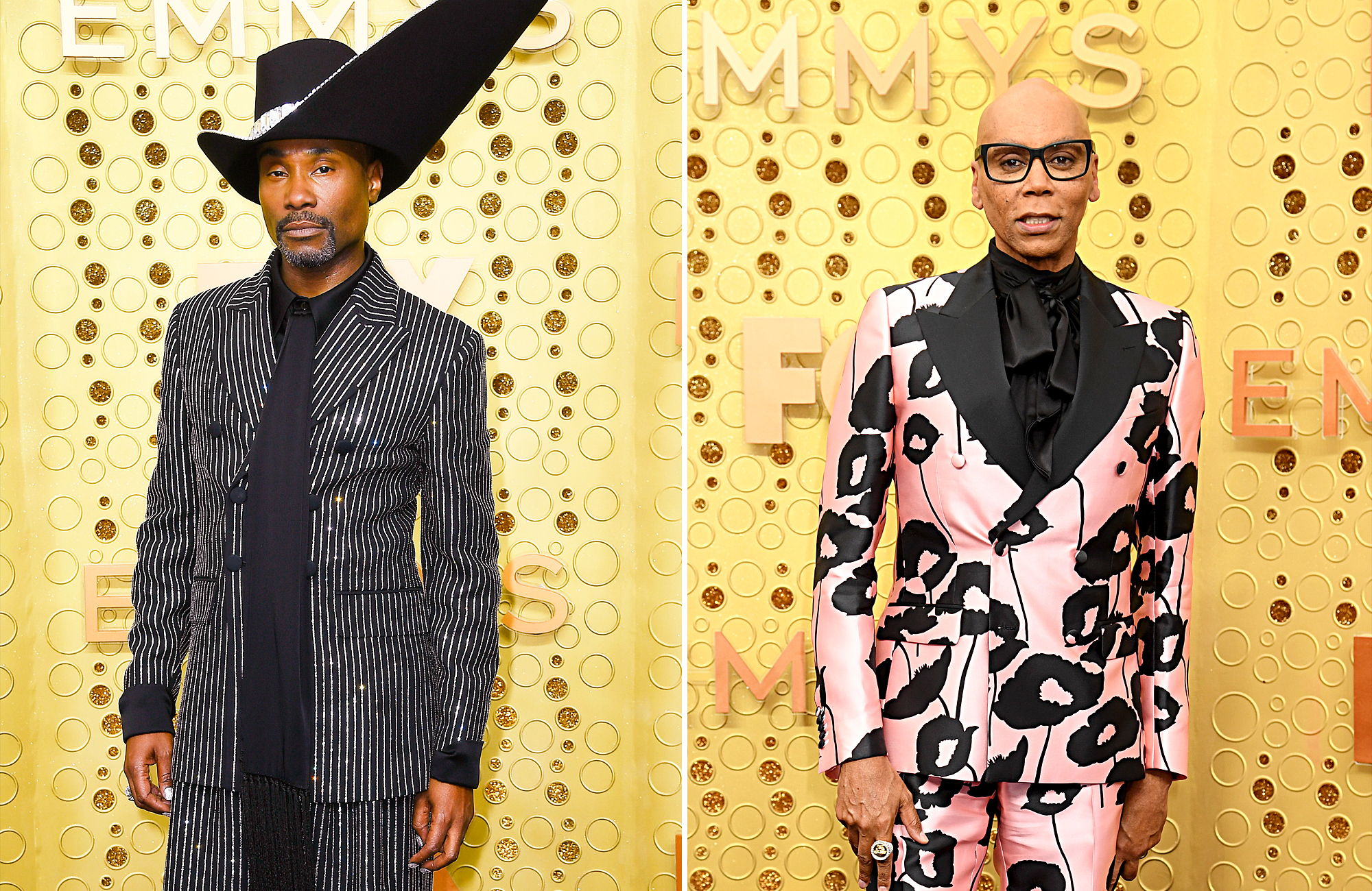 Billy Porter and Rupaul