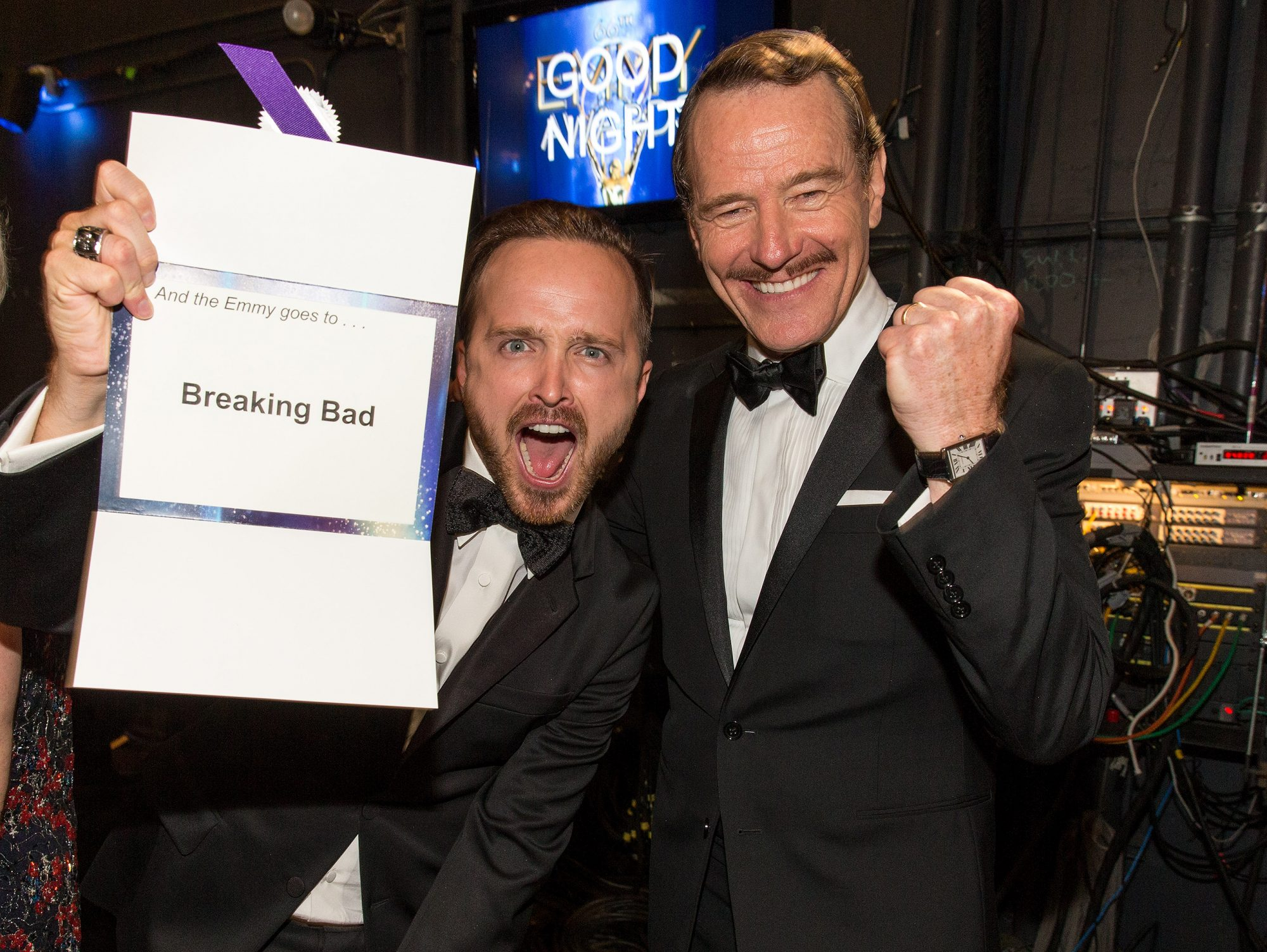 Aaron Paul Bryan Cranston friendship