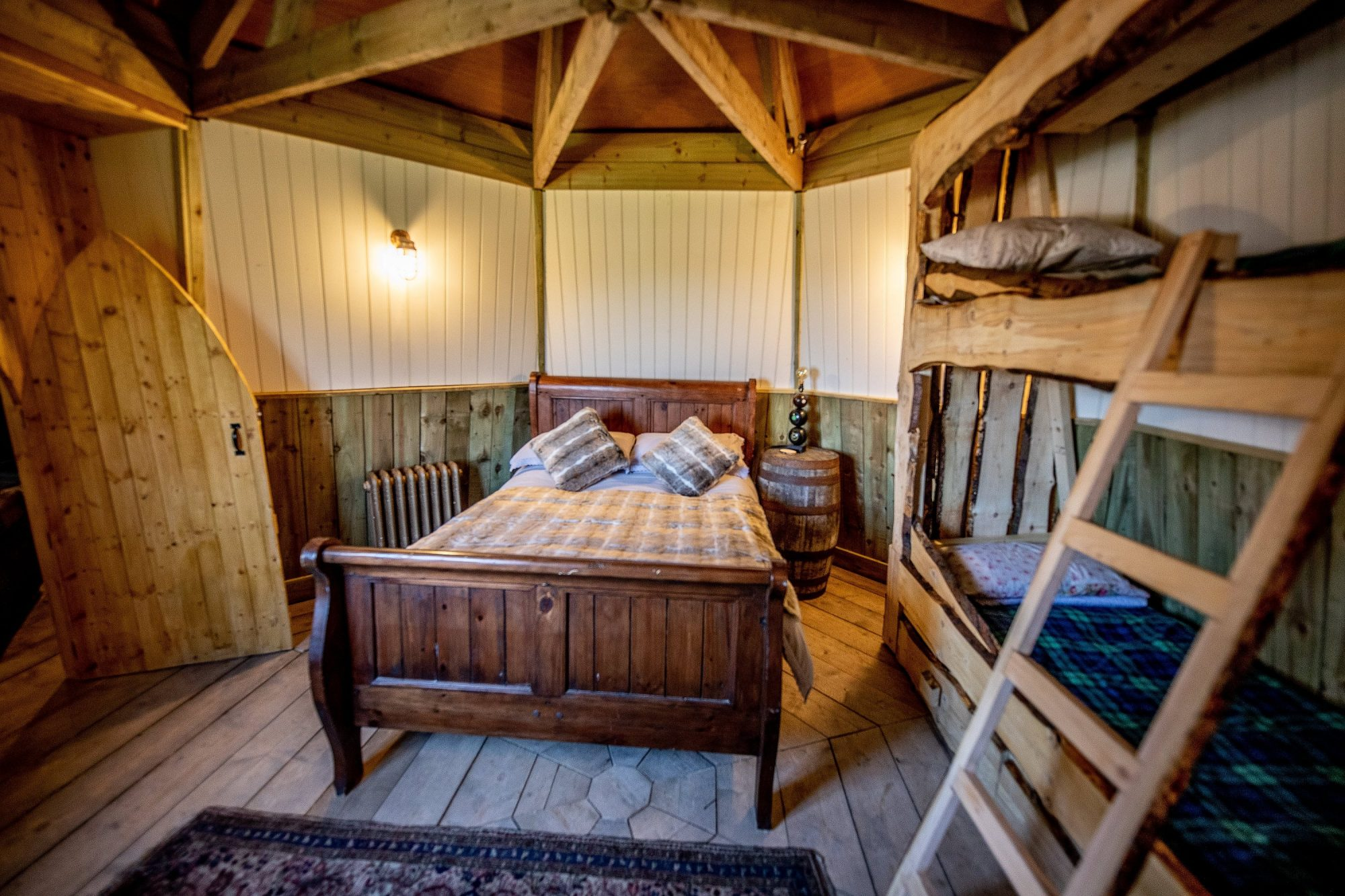 Win a Stay in Hadrid's Hut