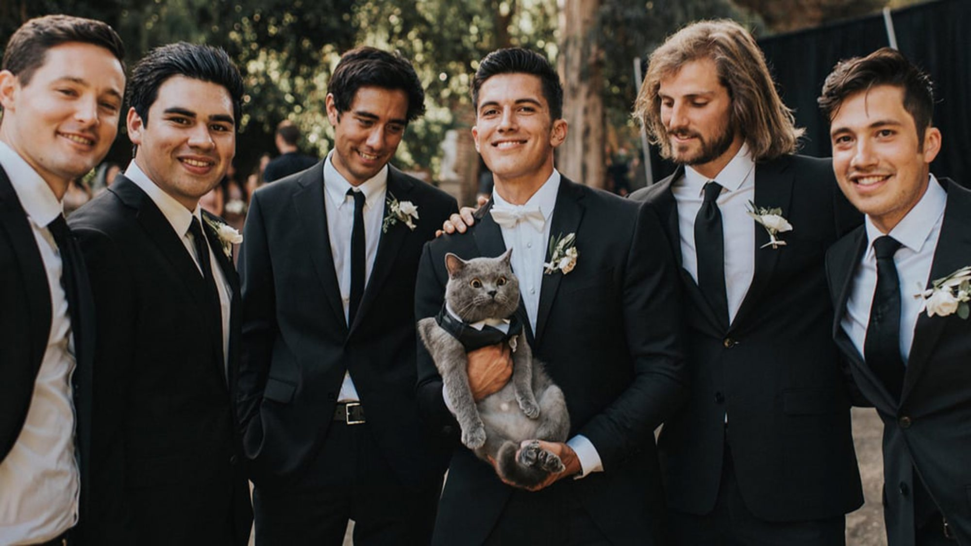 cat best man