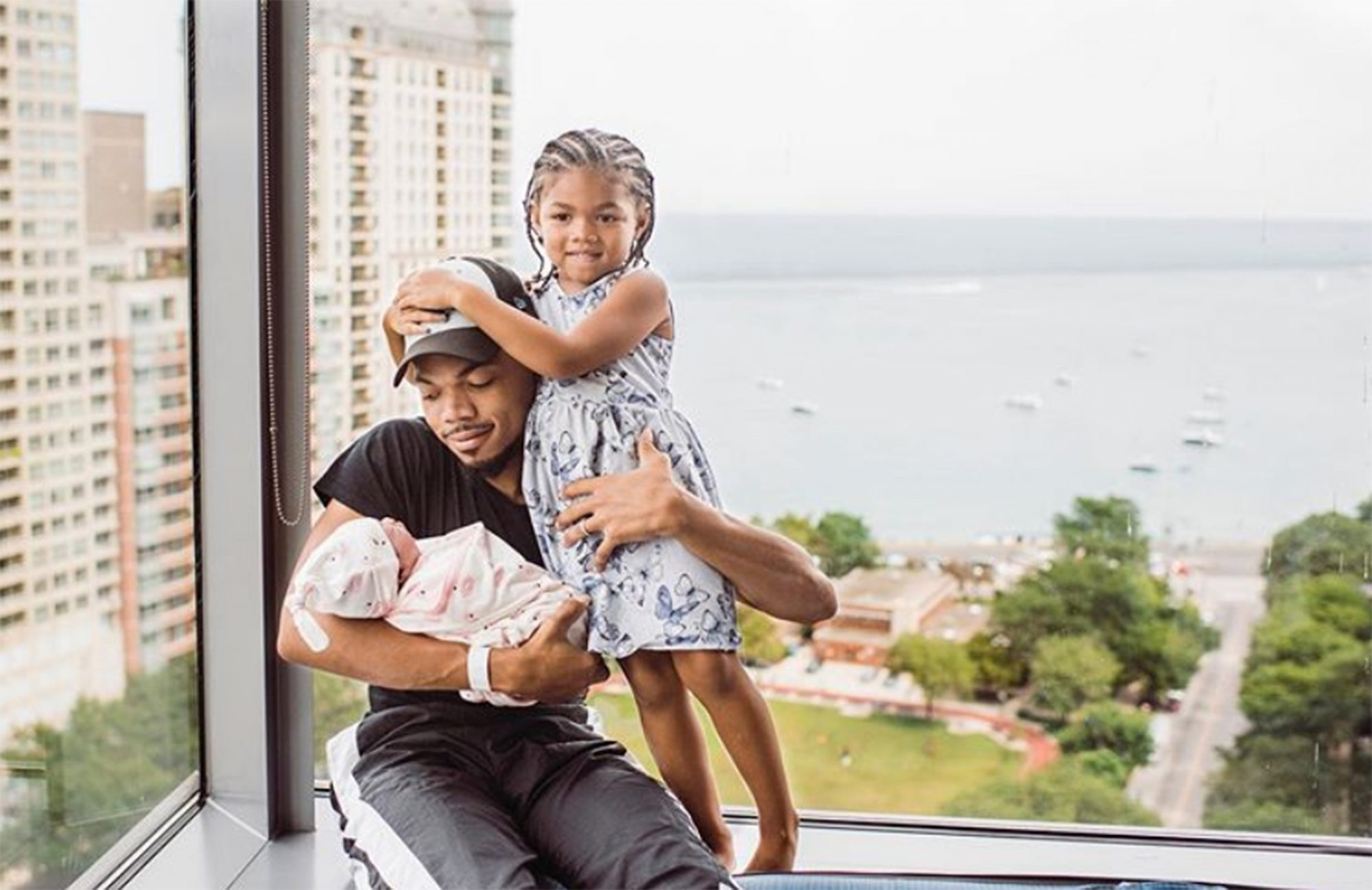 Chance the Rapper daughters