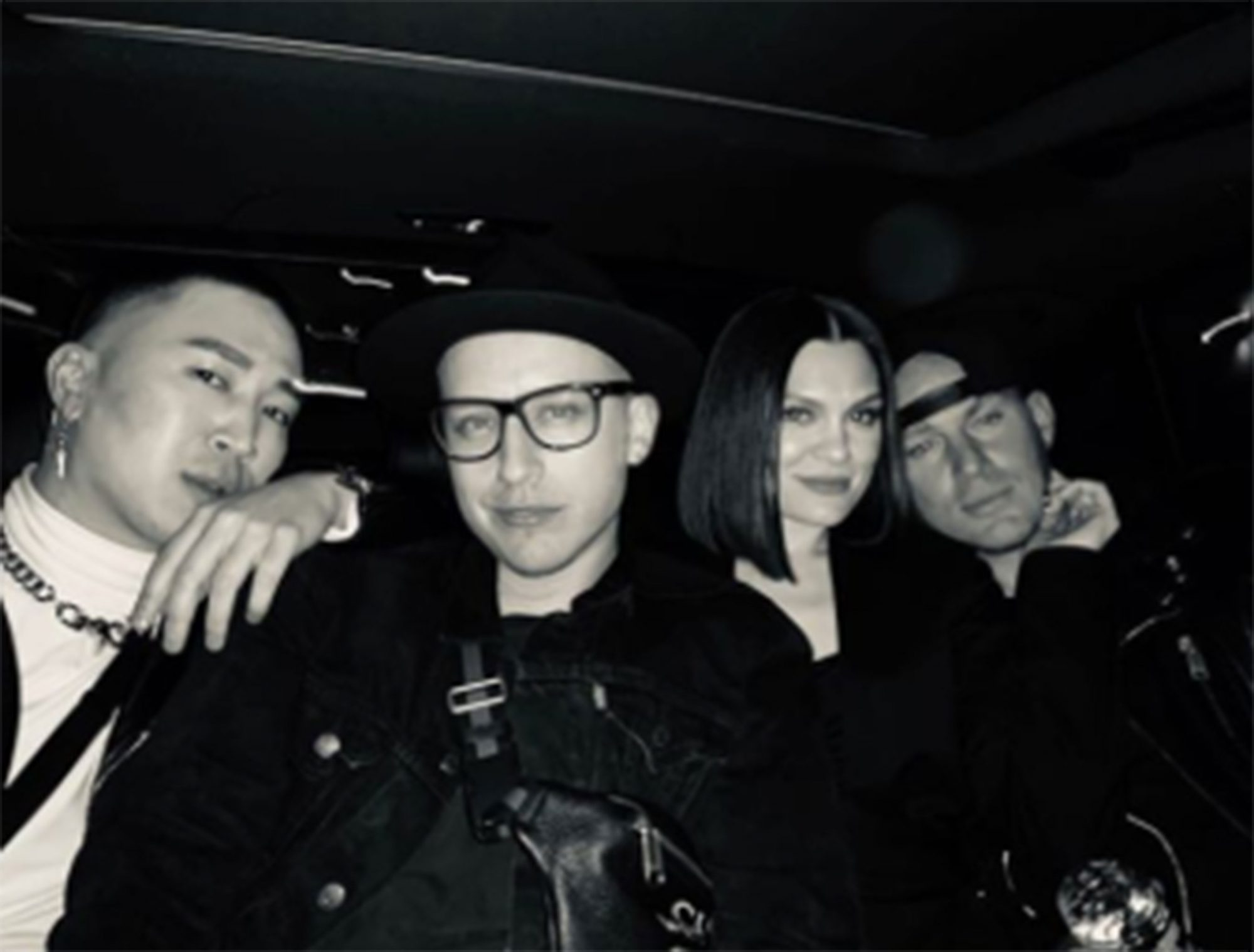 Channing Tatum Jessie J date nightCredit: Jessie J/Instagram