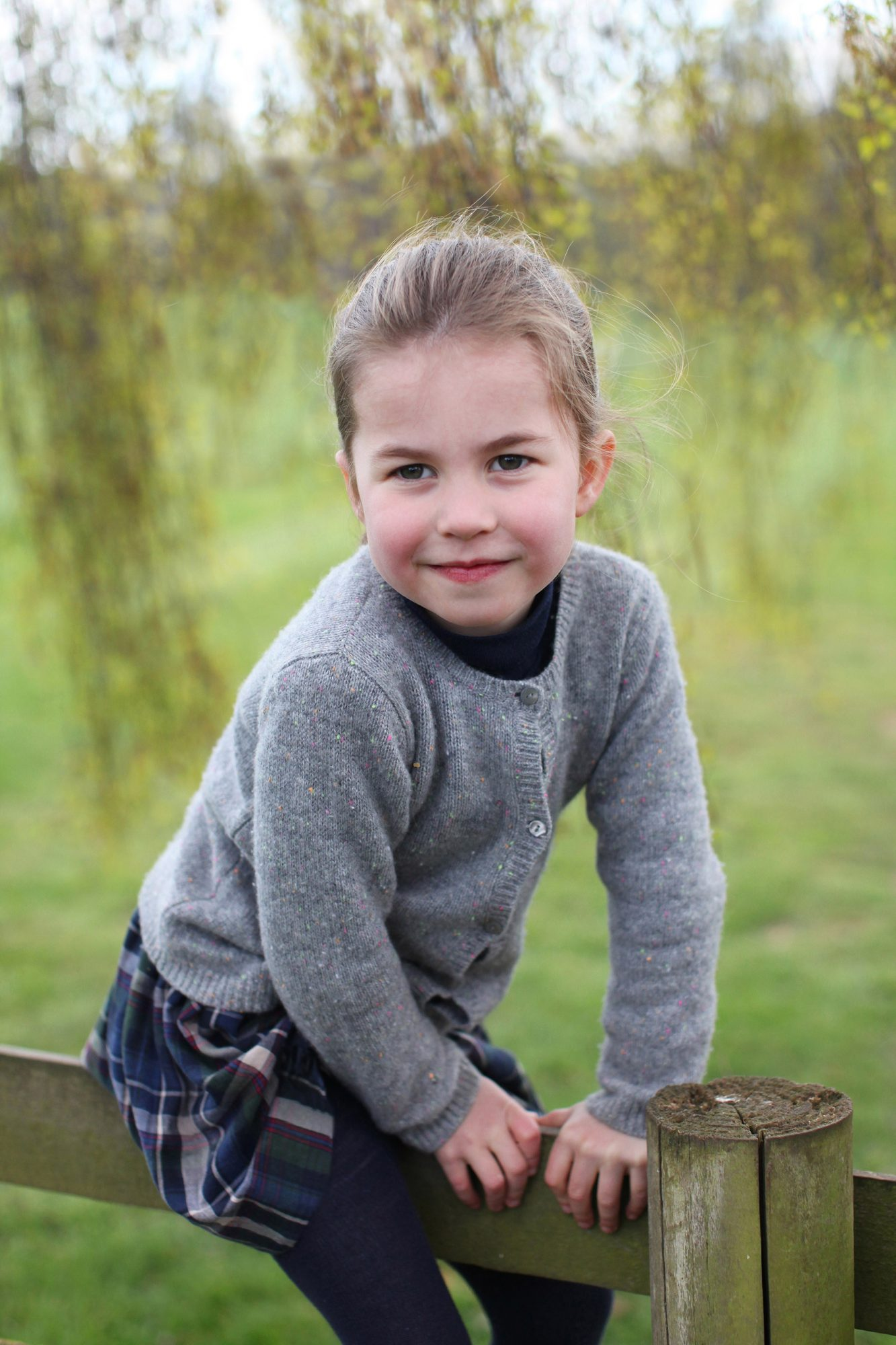 Princess Charlotte fourth birthday