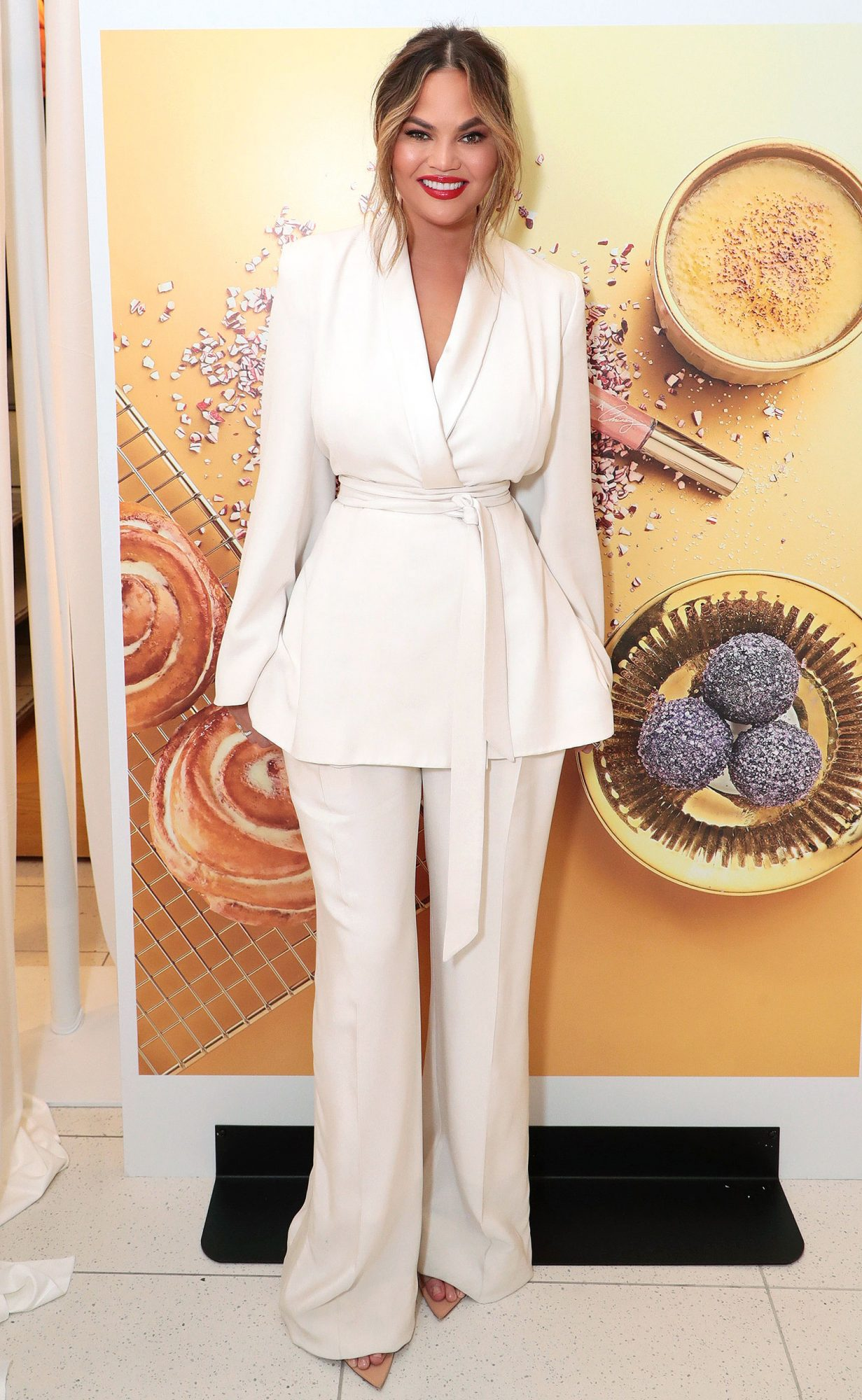 Chrissy Teigen Celebrates The Launch of Her BECCA X Chrissy Cravings Collection at Nordstrom The Grove, Los Angeles, USA - 10 November 2018