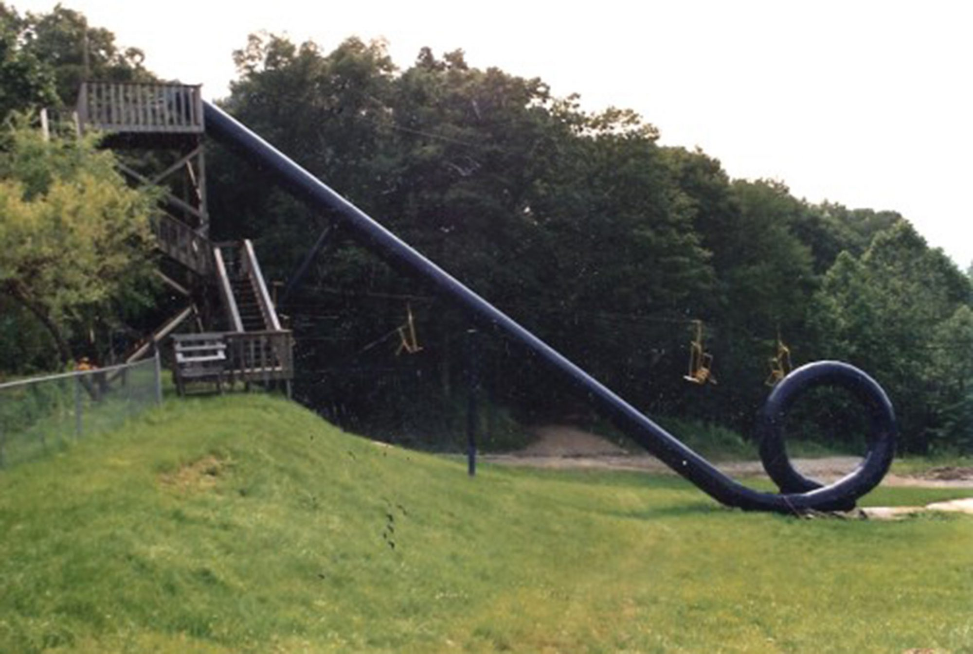 Action Park cannonball loop