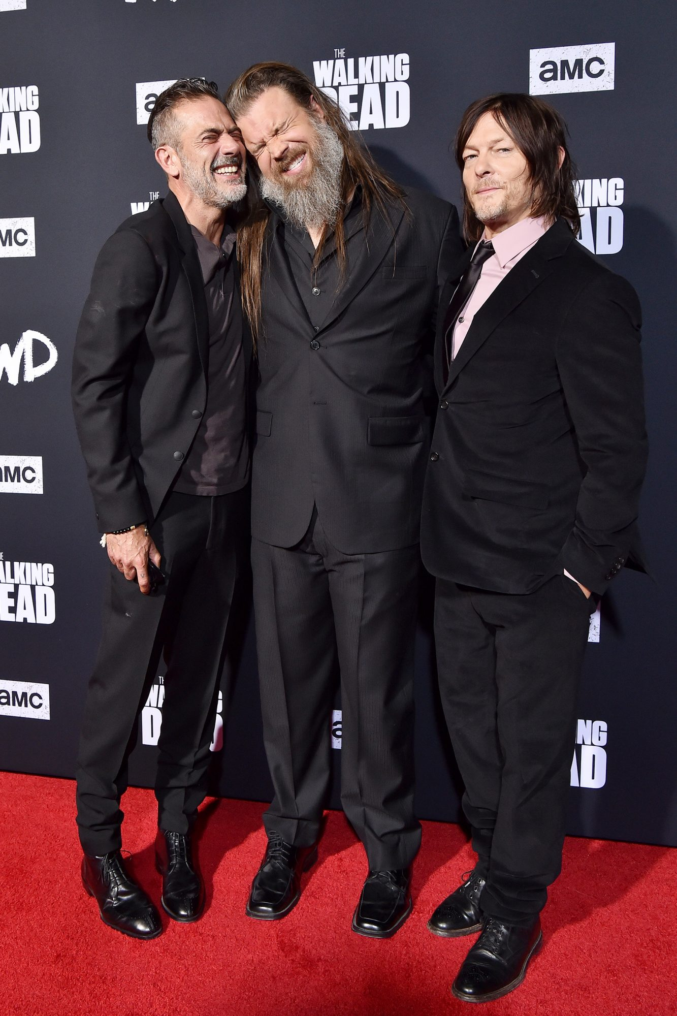 Jeffrey Dean Morgan, Ryan Hurst and Norman Reedus