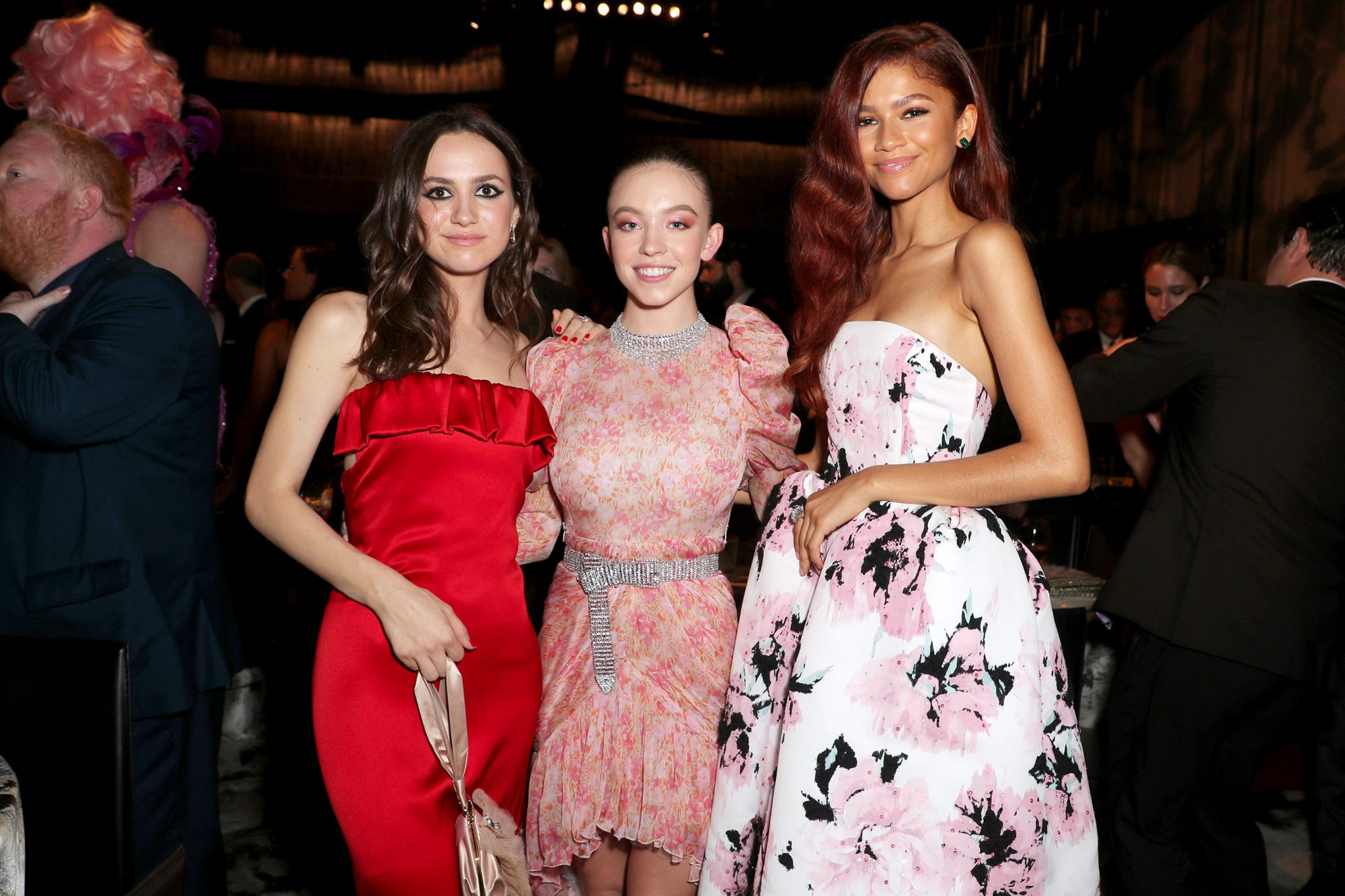 Maude Apatow, Sydney Sweeney and Zendaya