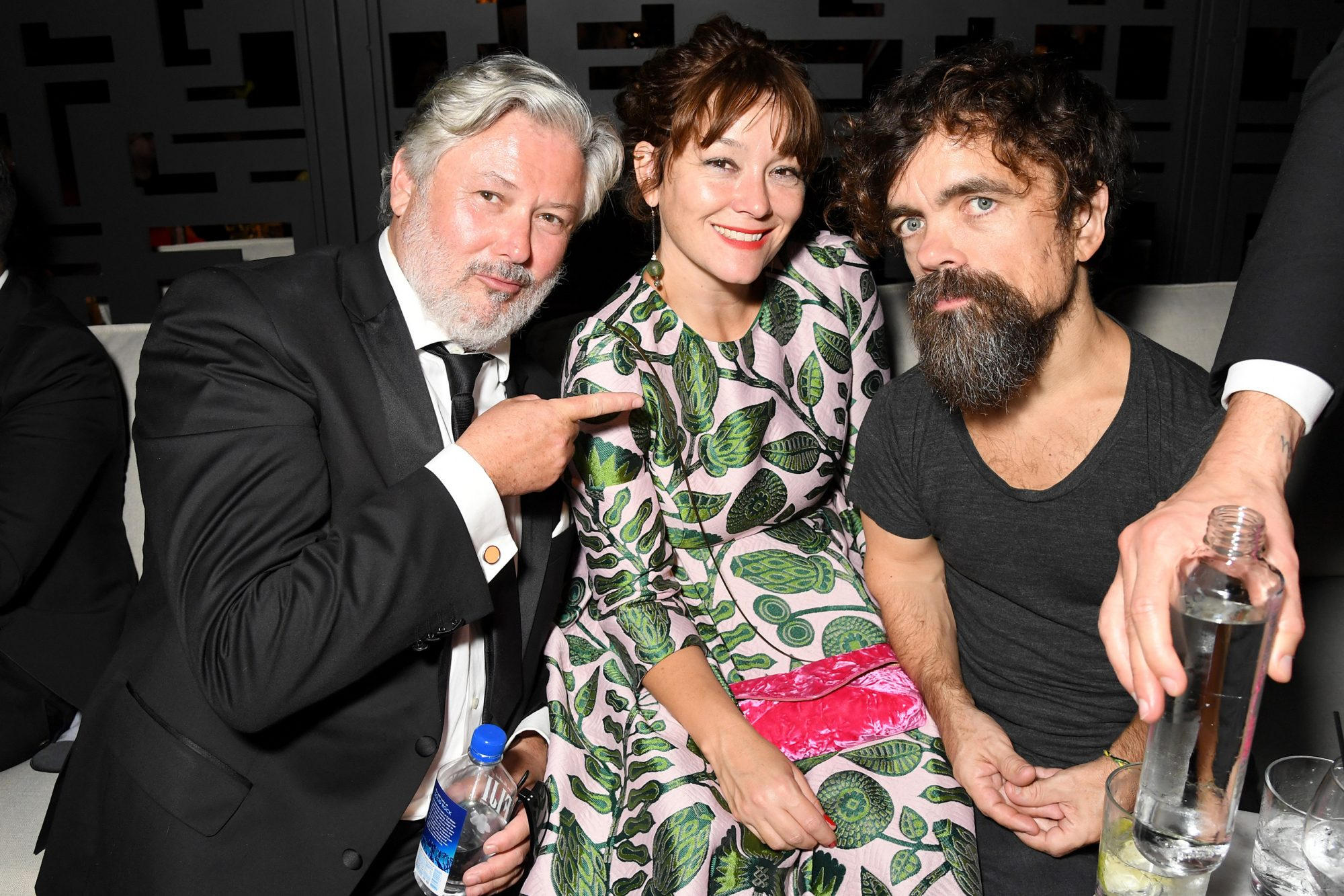 Conleth Hill, Erica Schmidt and Peter Dinklage